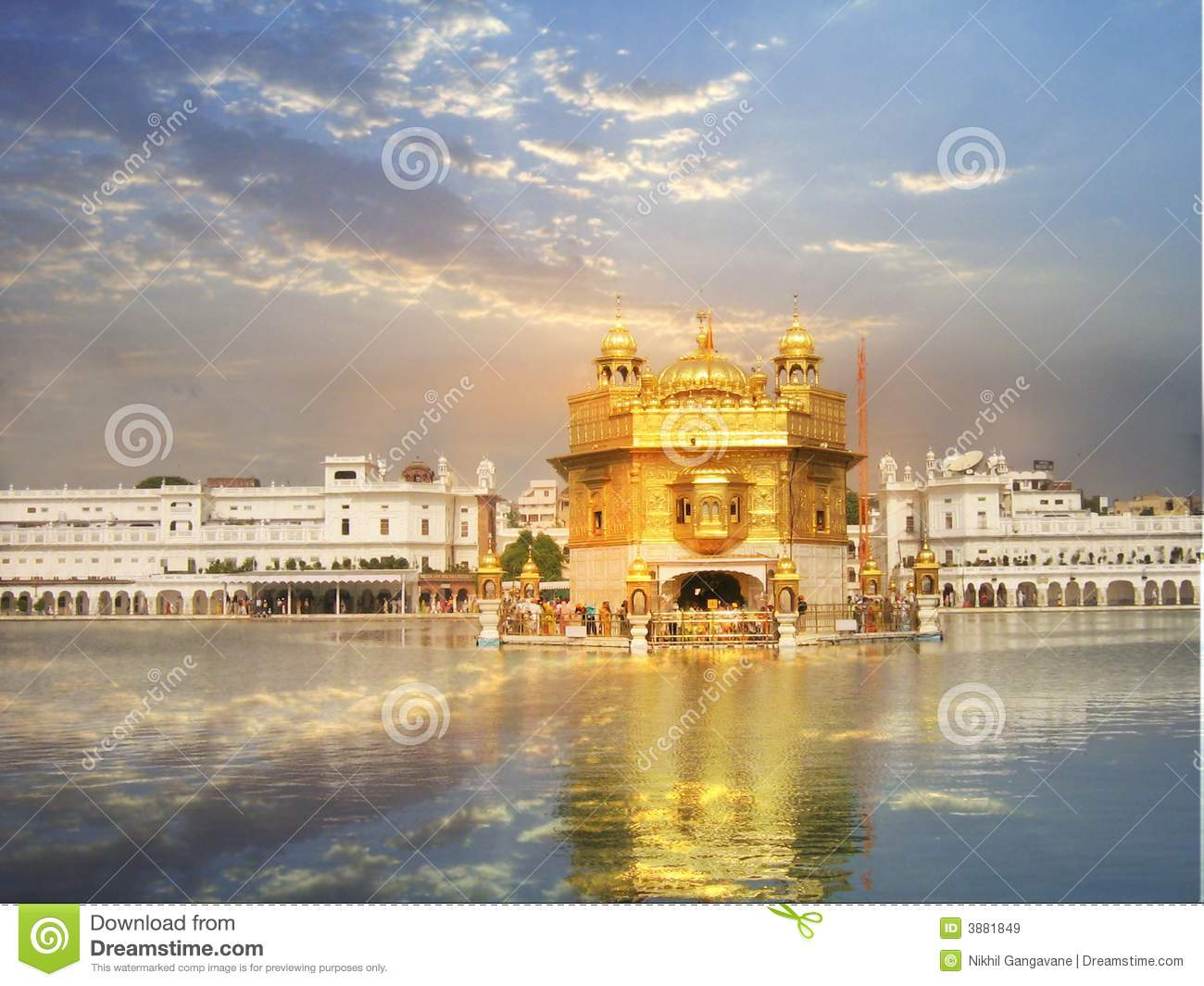 Heavenly Temple Royalty Free Stock Images Image 3881849
