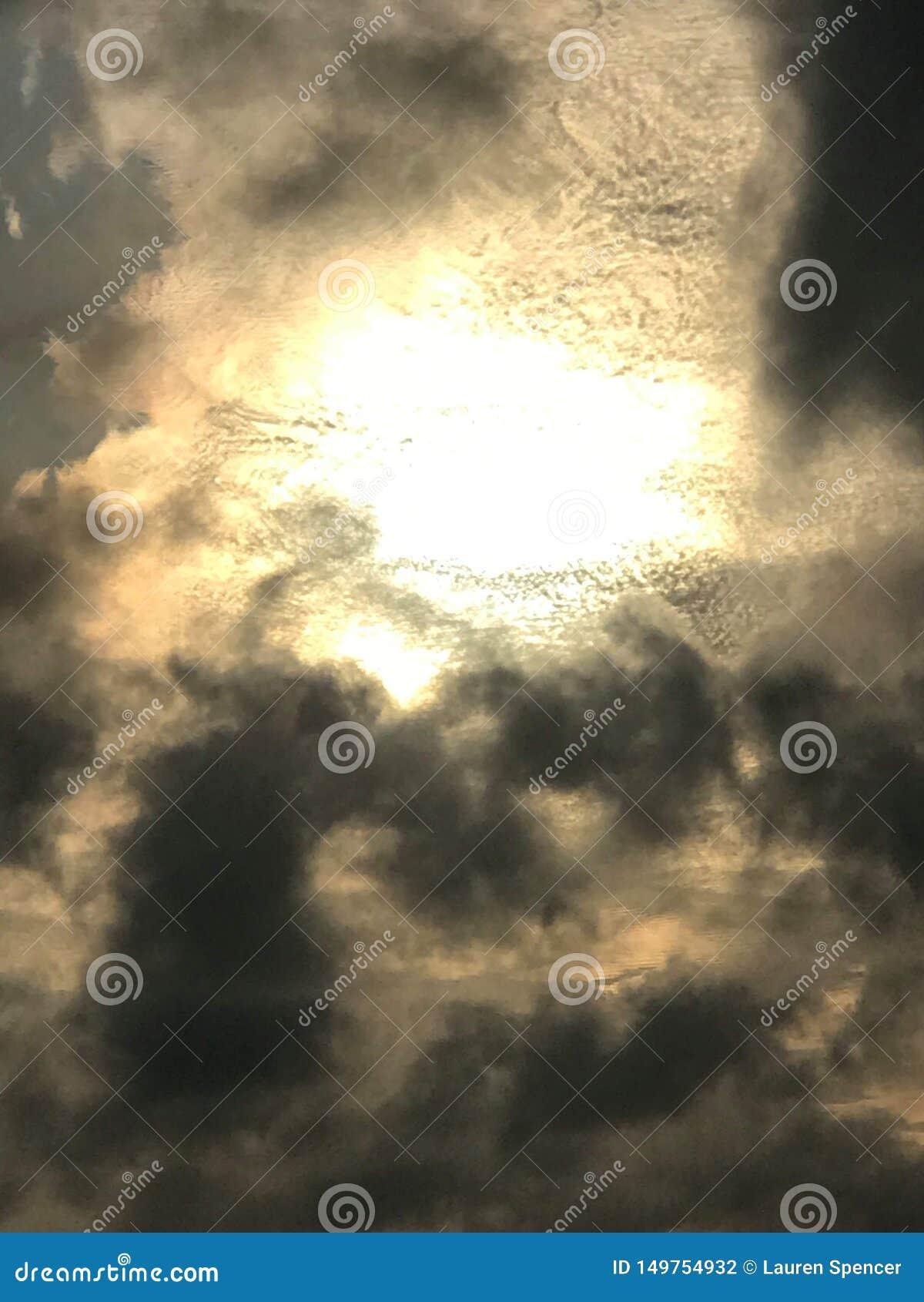 Heavens eye hath shine