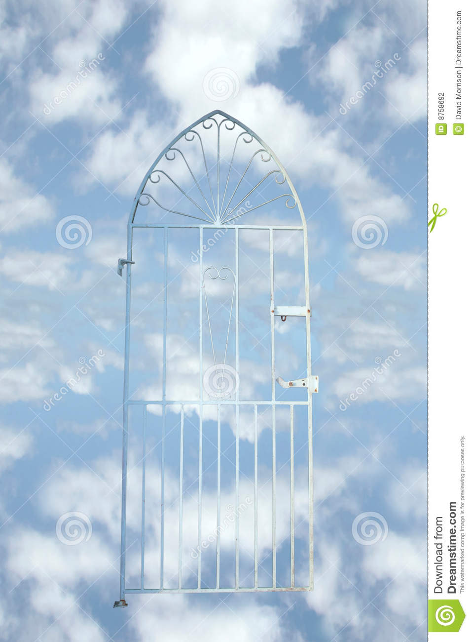 Heavens Gate Stock Photography Image 8758692