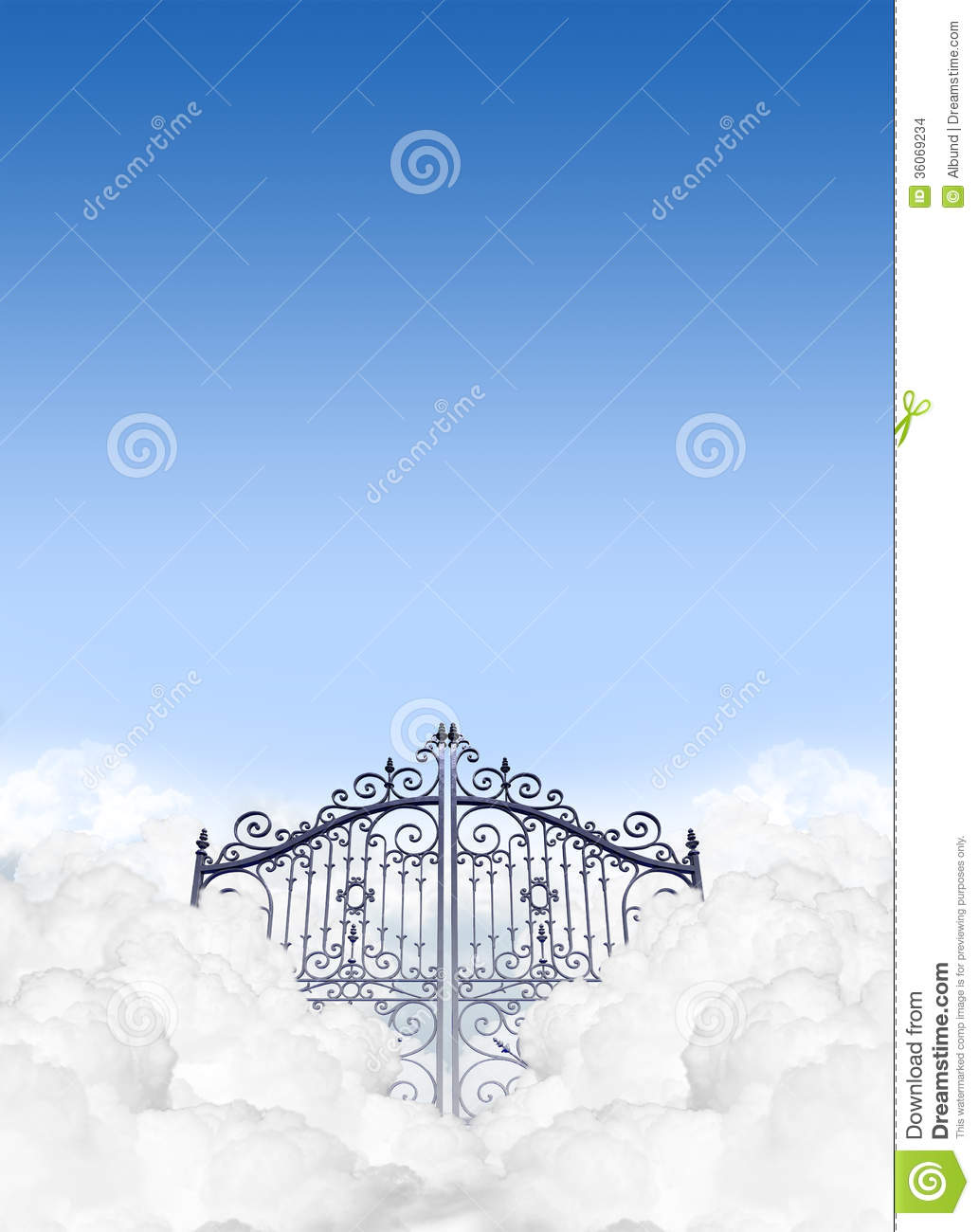 Heavens Gates I... Gates Of Heaven Design