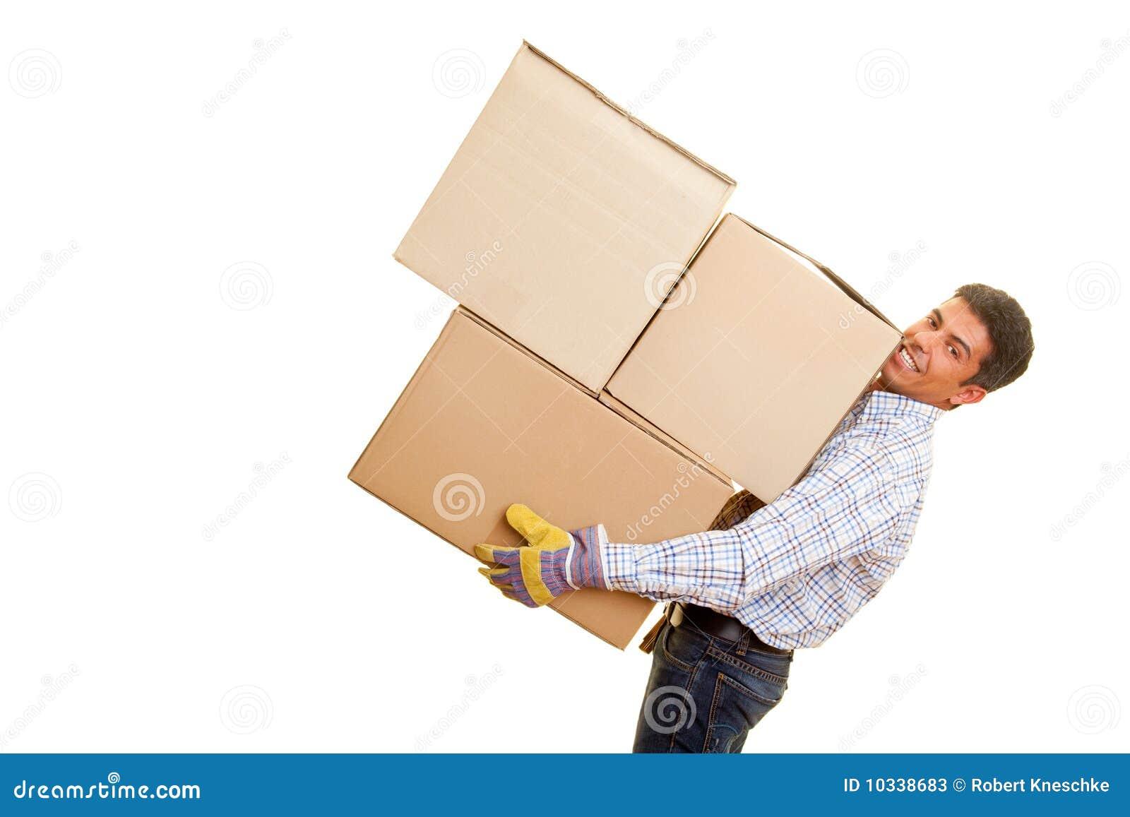 Heavy Boxes Stock Photos - Image: 10338683