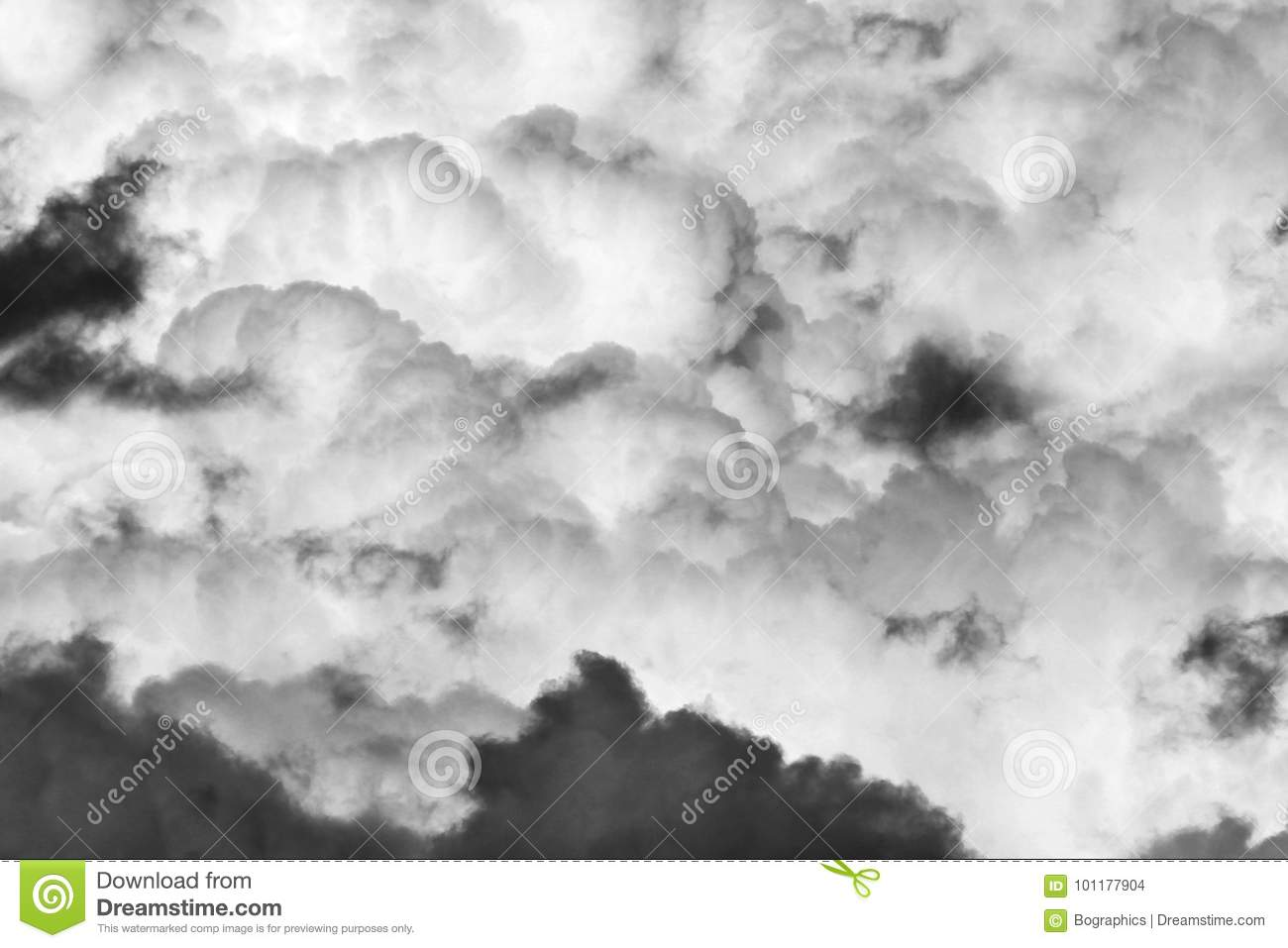 Heavy clouds sky monochrome texture