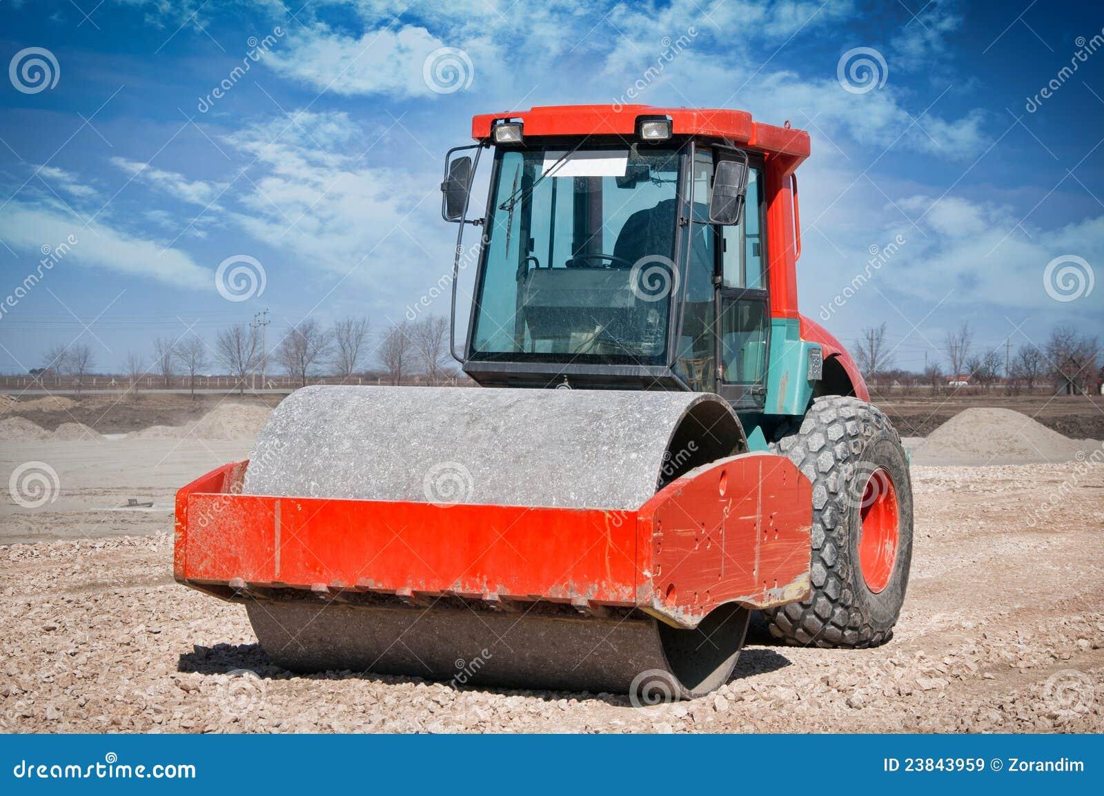 Heavy Duty Construction : Heavy duty construction equipment stock image of