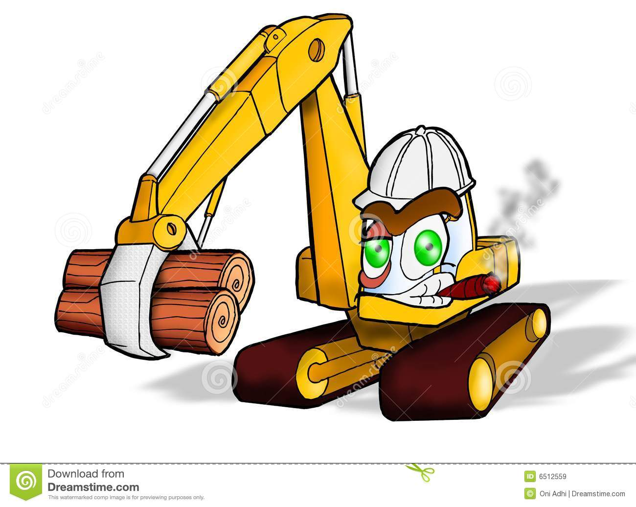 Backhoe Excavator | Kids Show Construction Vehicles on Job ...