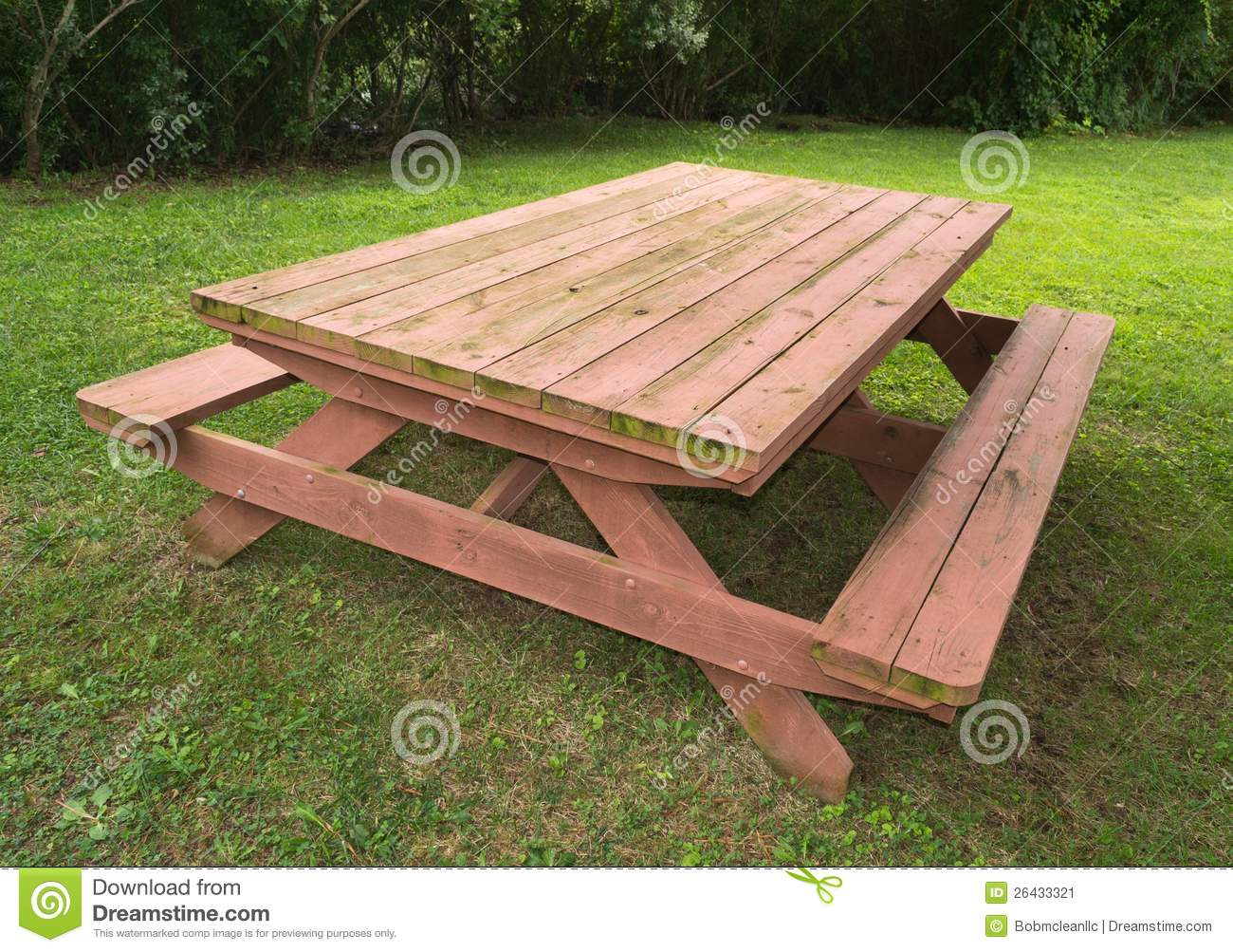 Heavy Duty Picnic Table Stock Image Image Of Duty Picnic