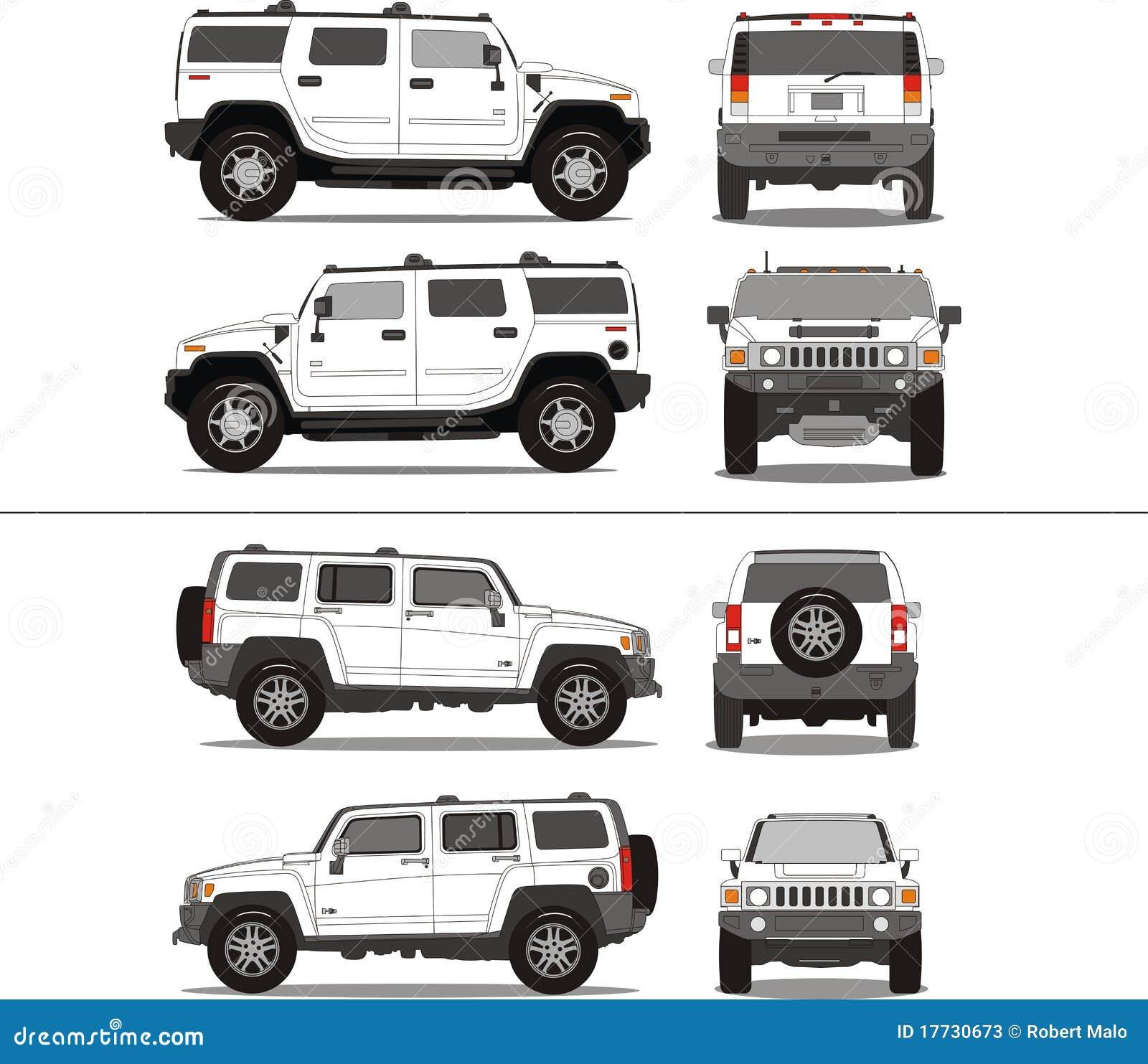 Suv Stock Illustrations Suv Stock Illustrations Vectors
