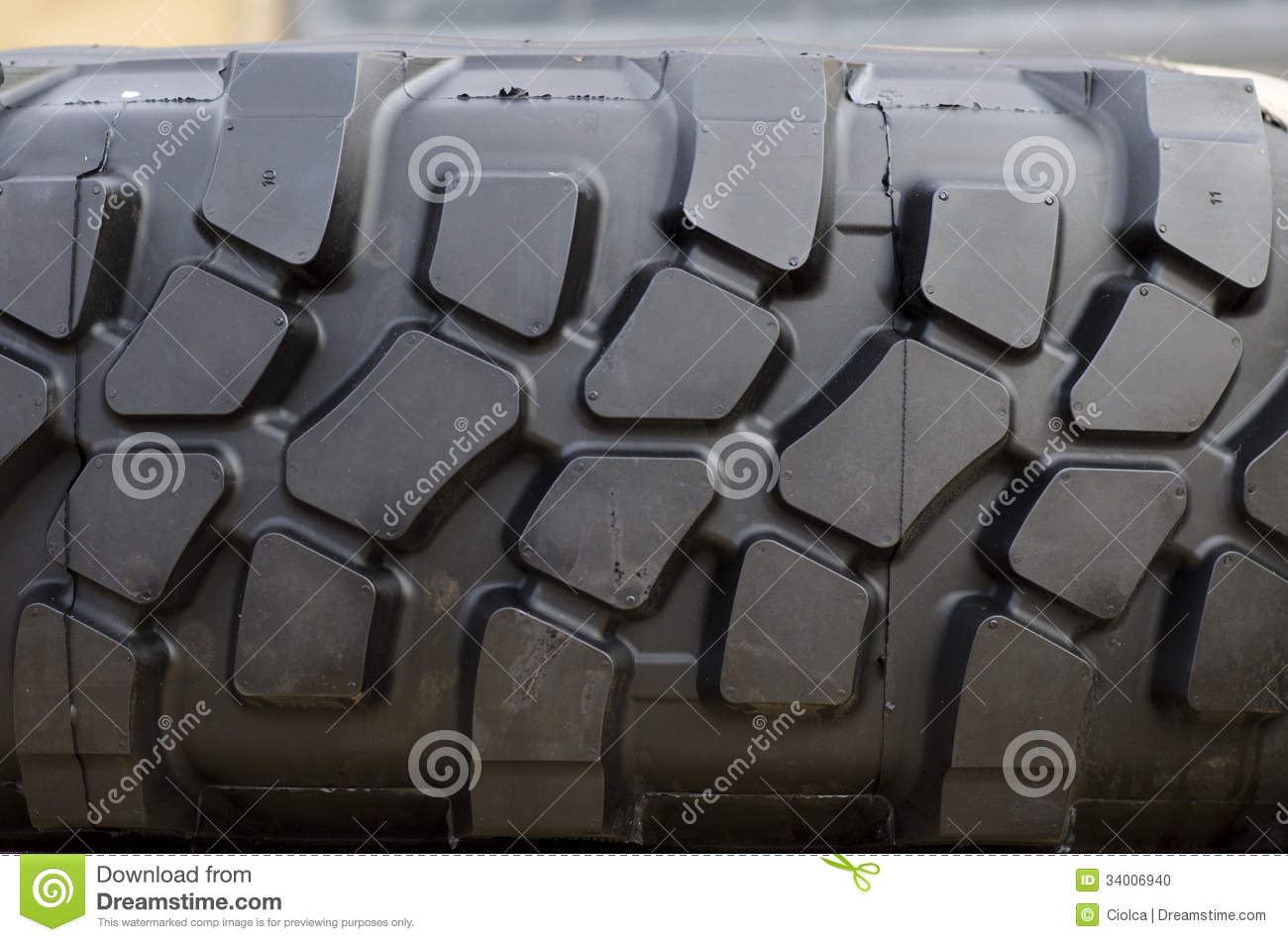 Tractor Tread Pattern : Heavy duty tire tread stock photo image
