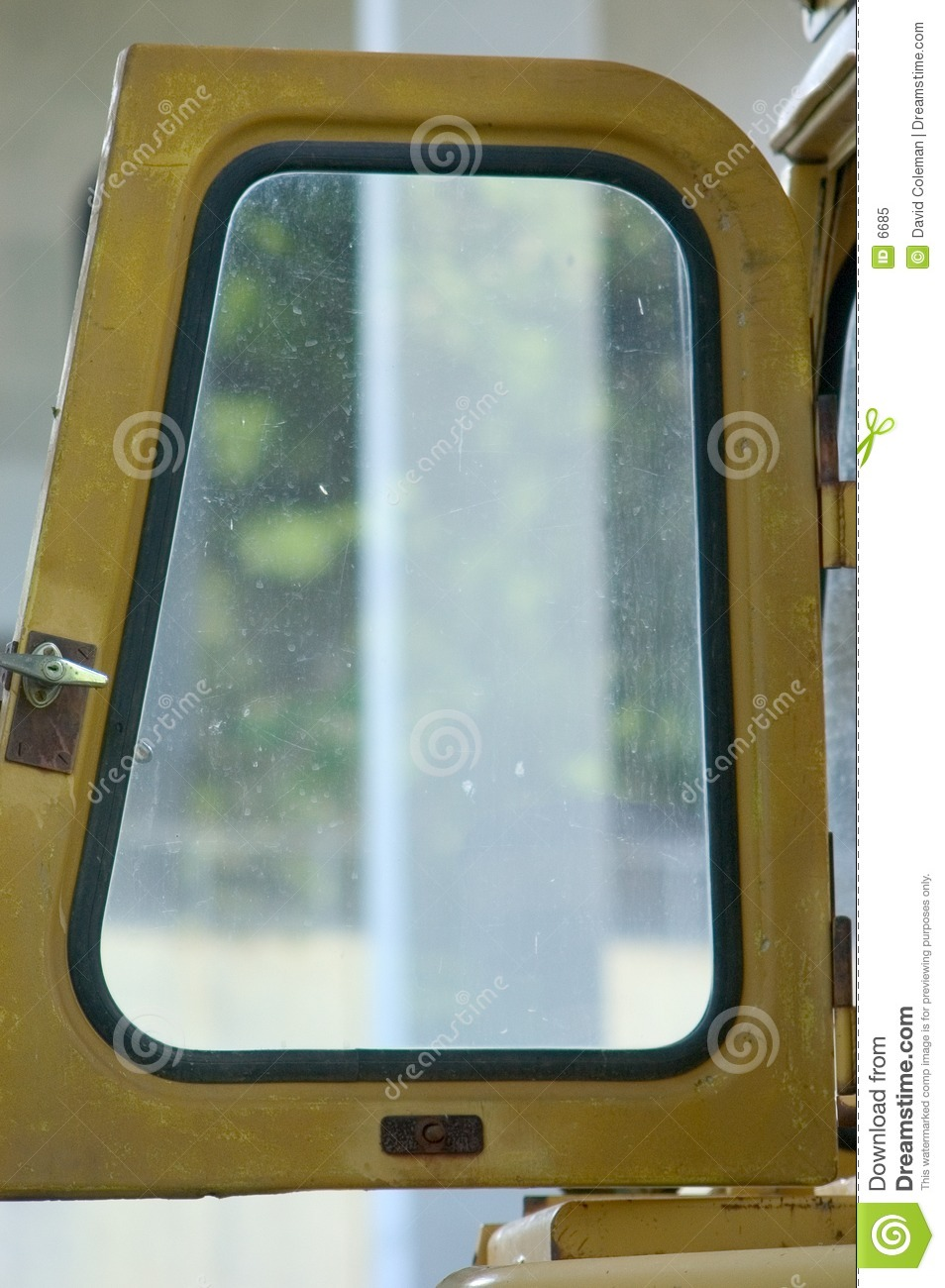Heavy Equipment Door