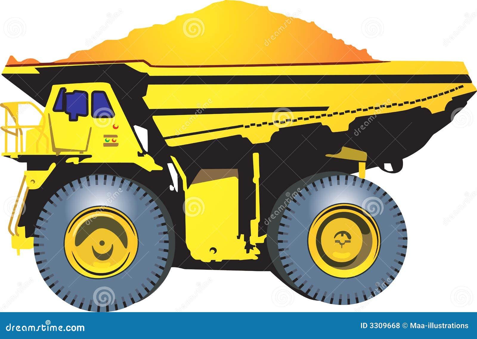 Heavy Goods Vehicle Royalty Free Stock Photos Image 3309668