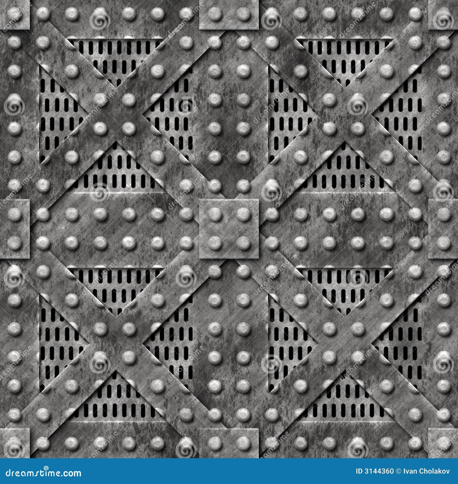 Heavy Metal Door Stock Illustration Image Of Container