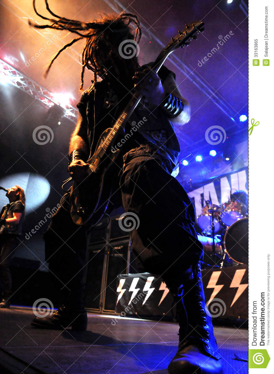 Heavy metal, rock concert live