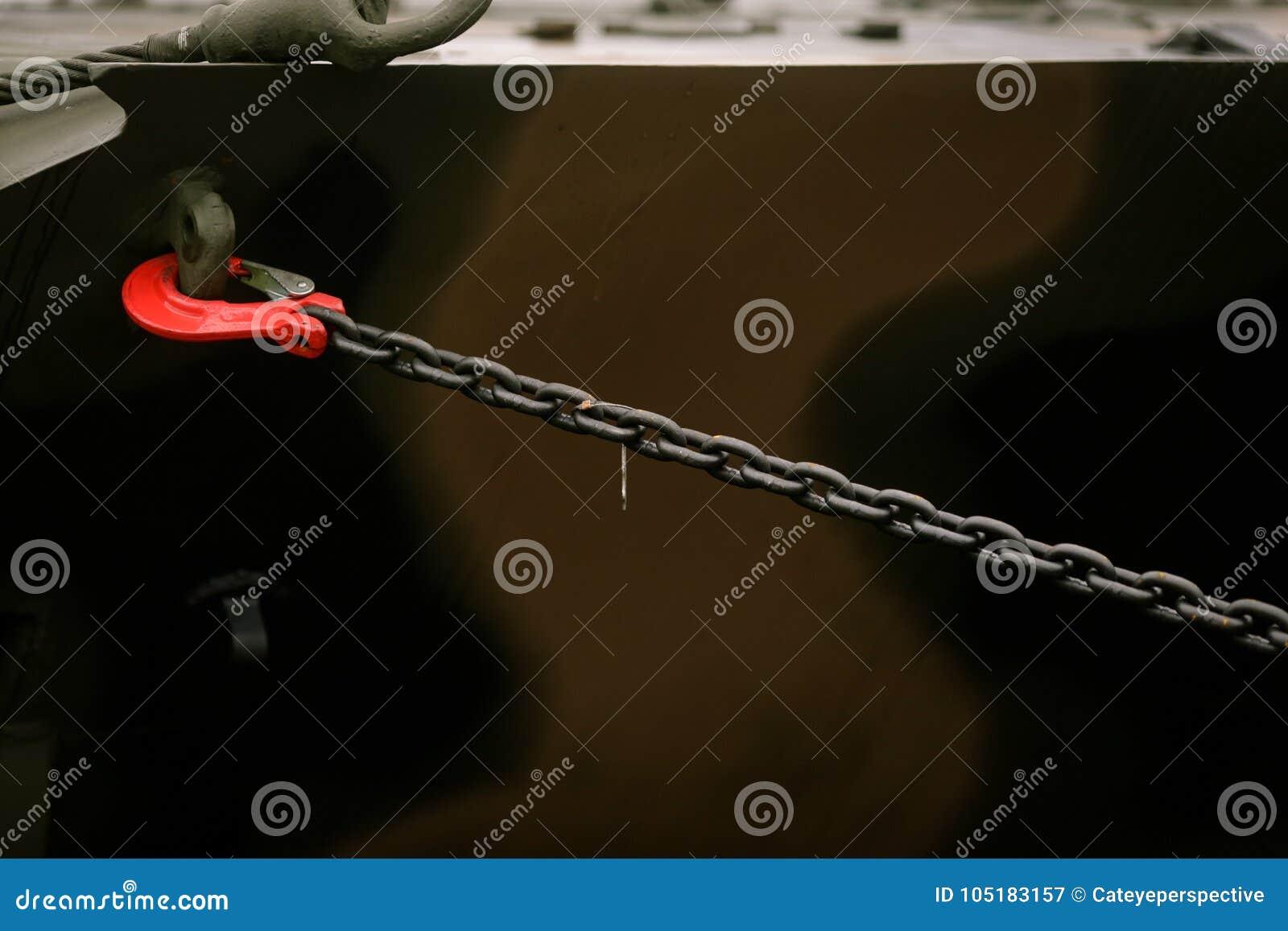 Säkerhets kedjan krok upp