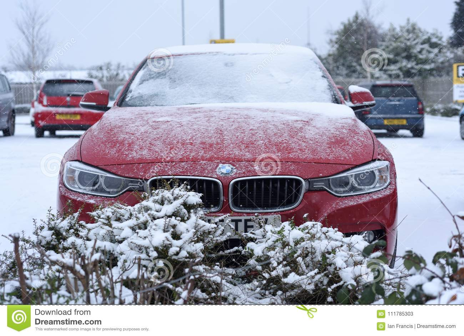 Heavy Snowfall in the UK