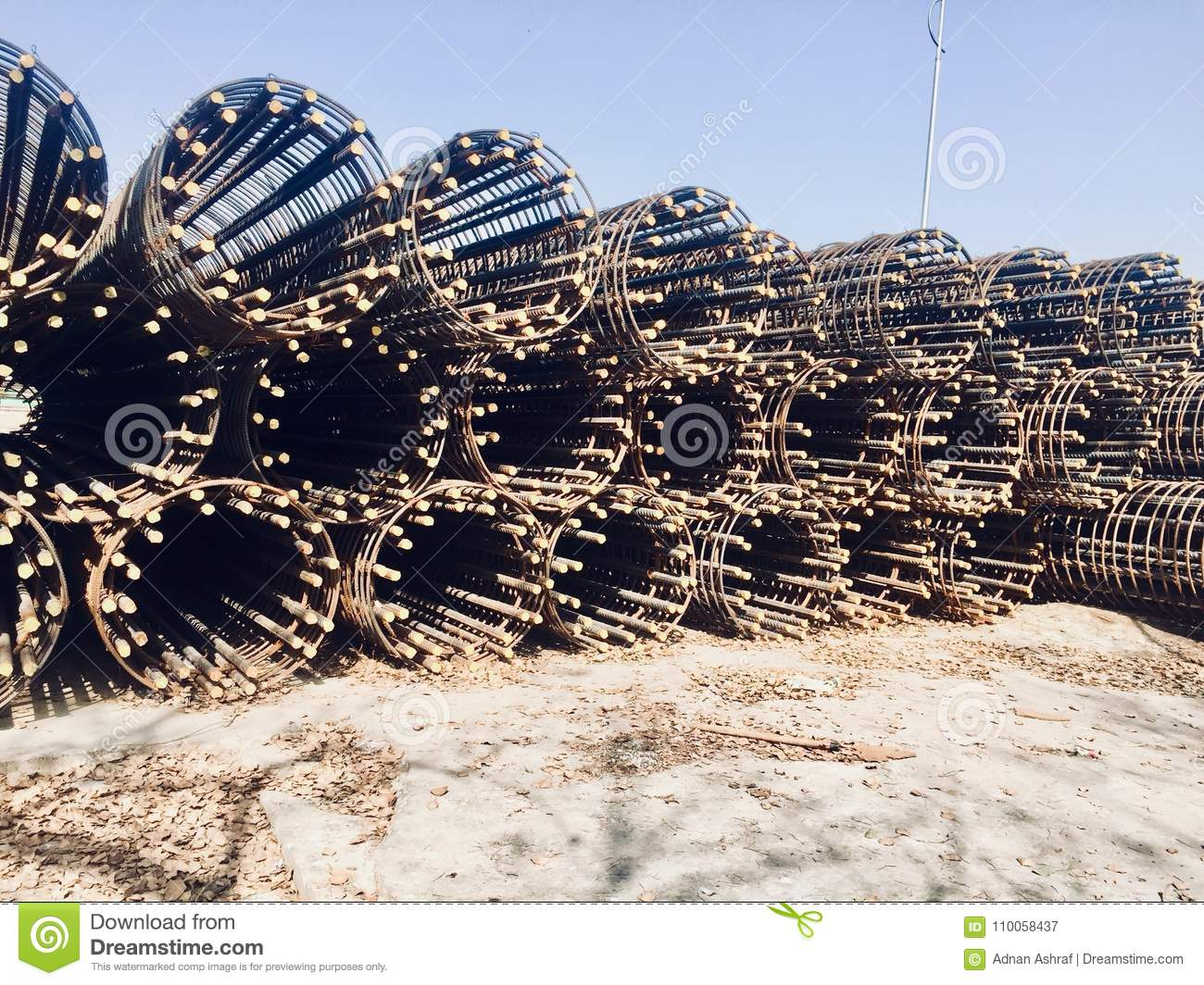 Heavy Steels Material For Heavy Construction Of Brigades