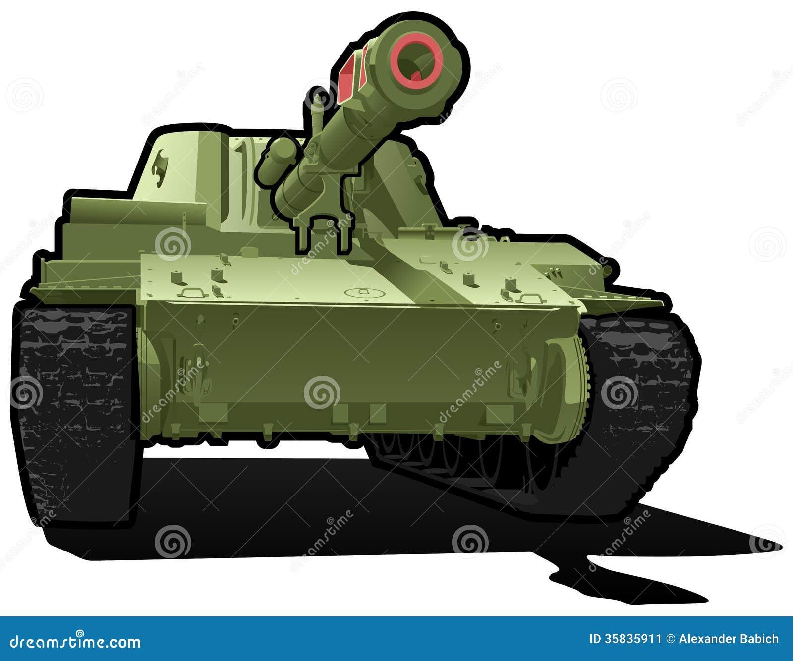 Simple Cartoon Tank