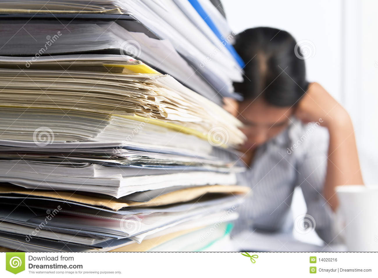 Heavy Workload Royalty Free Stock Image Image 14020216