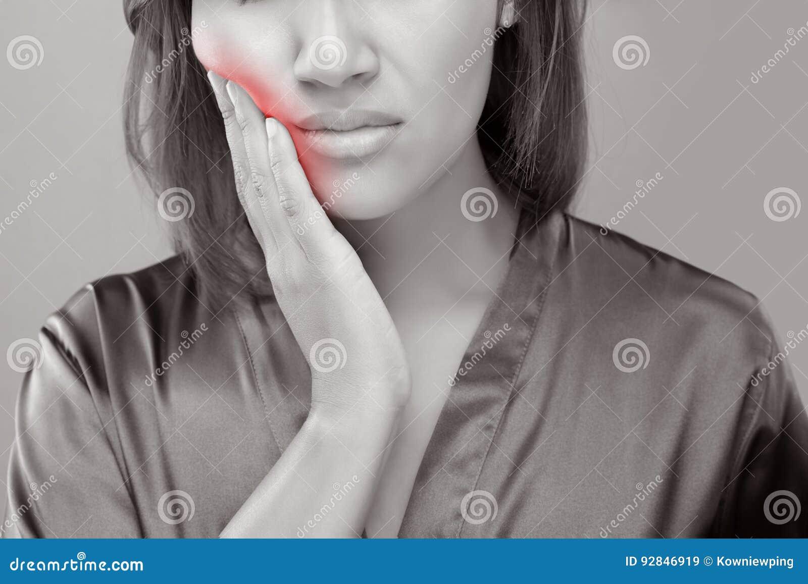 Heb een tandpijn