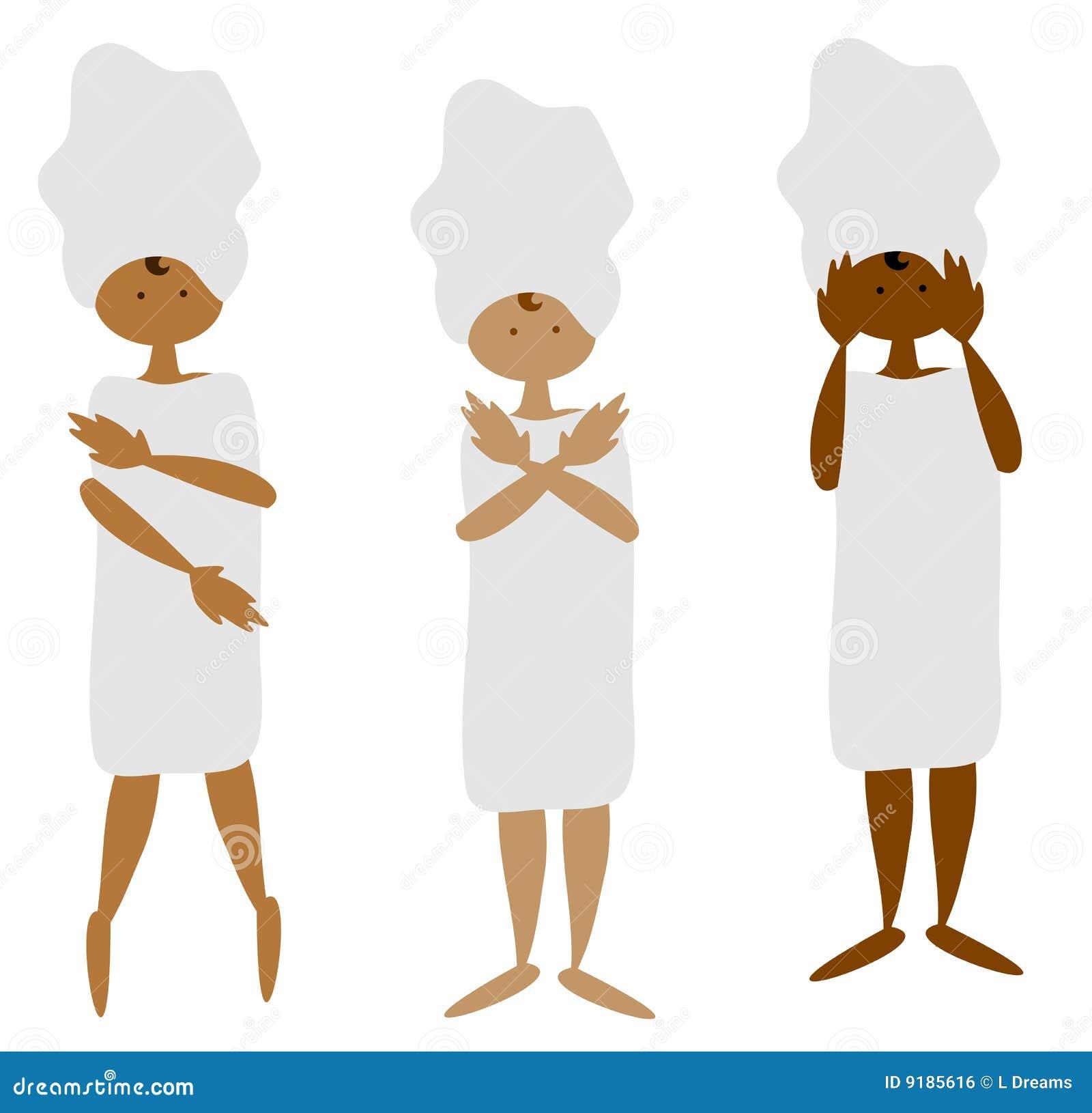 Hebanowe kobiety