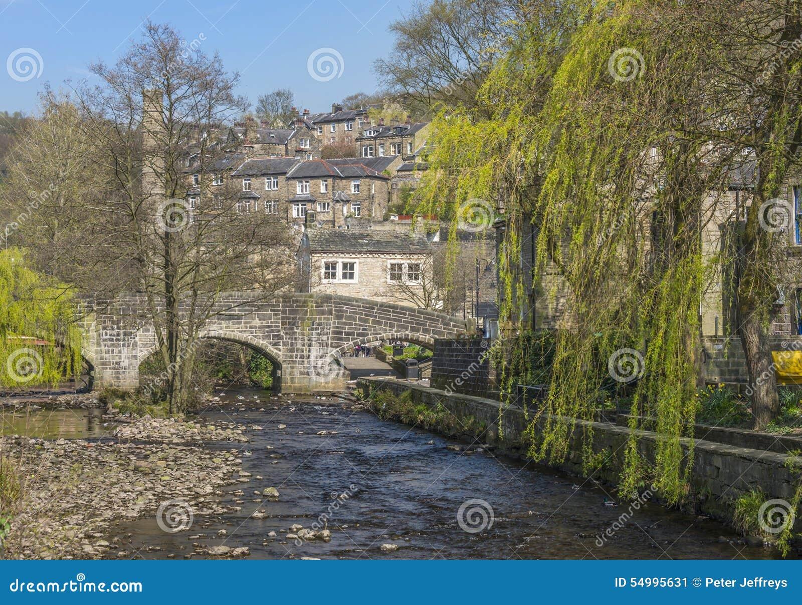 Hebden bro som är västra - yorkshire