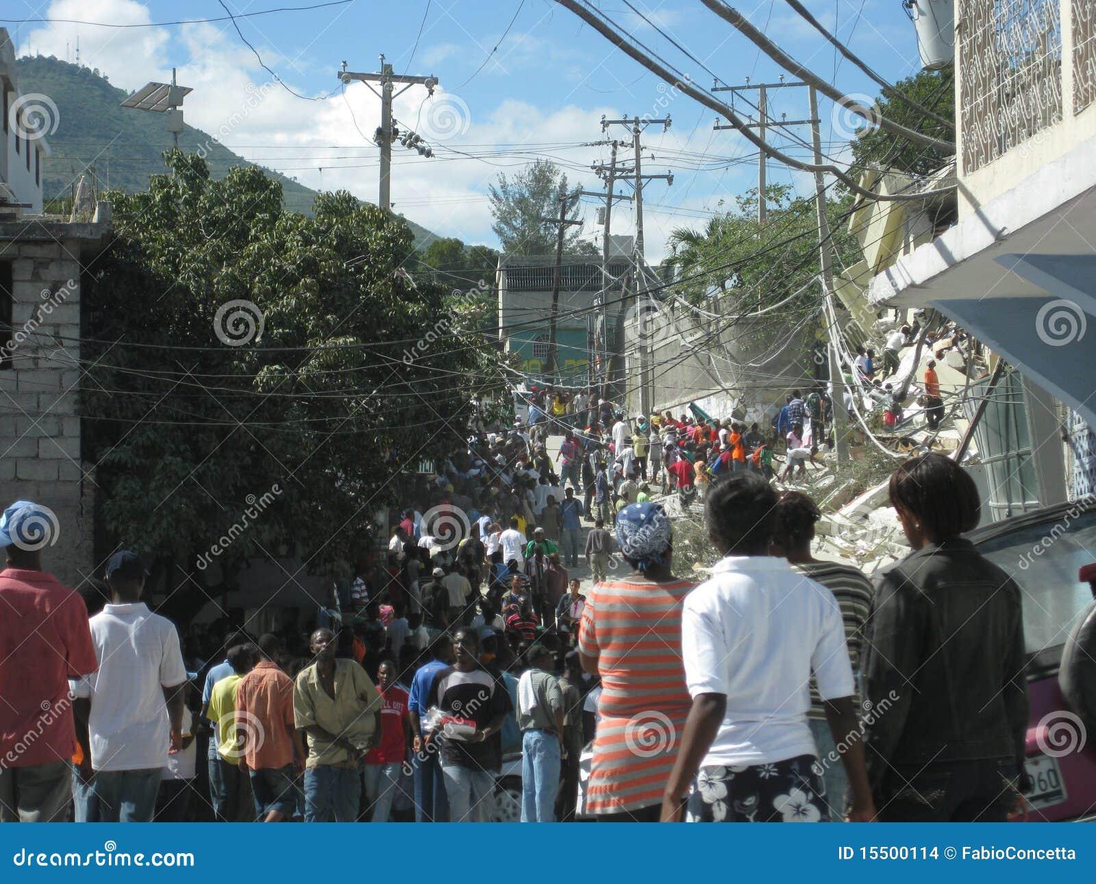 Hecatomb in Haïti