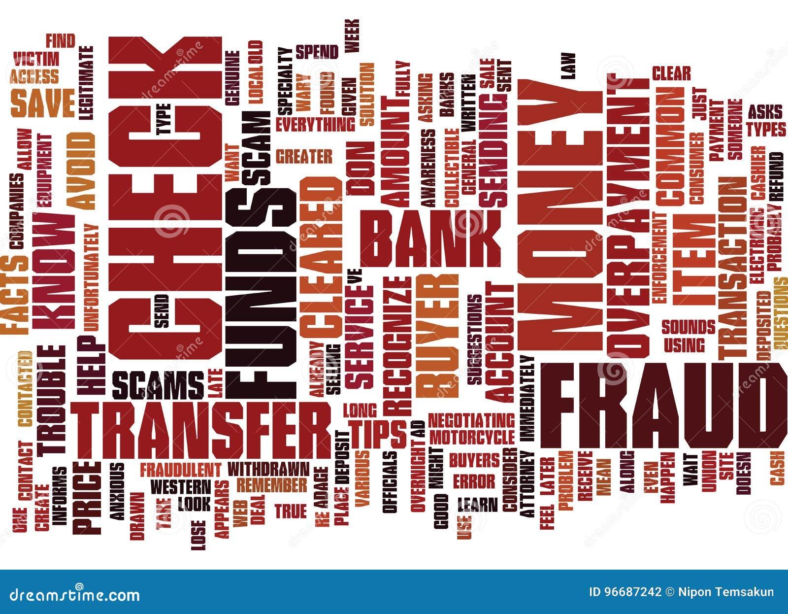Hechos y extremidades del fraude para ayudarle a mandar un SMS a concepto de la nube de la palabra del fondo