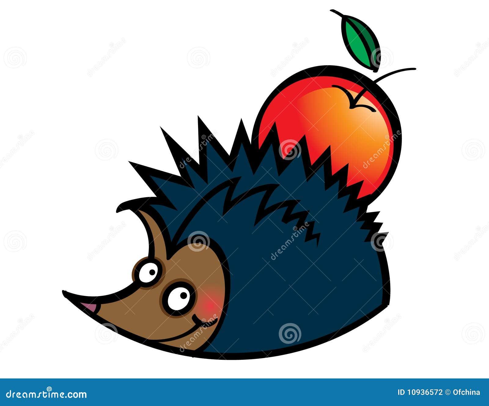 Hedgehog яблока