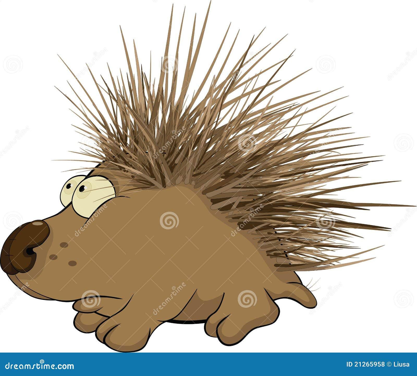 Hedgehog. Cartoon Royalty Free Stock Photos - Image: 21265958