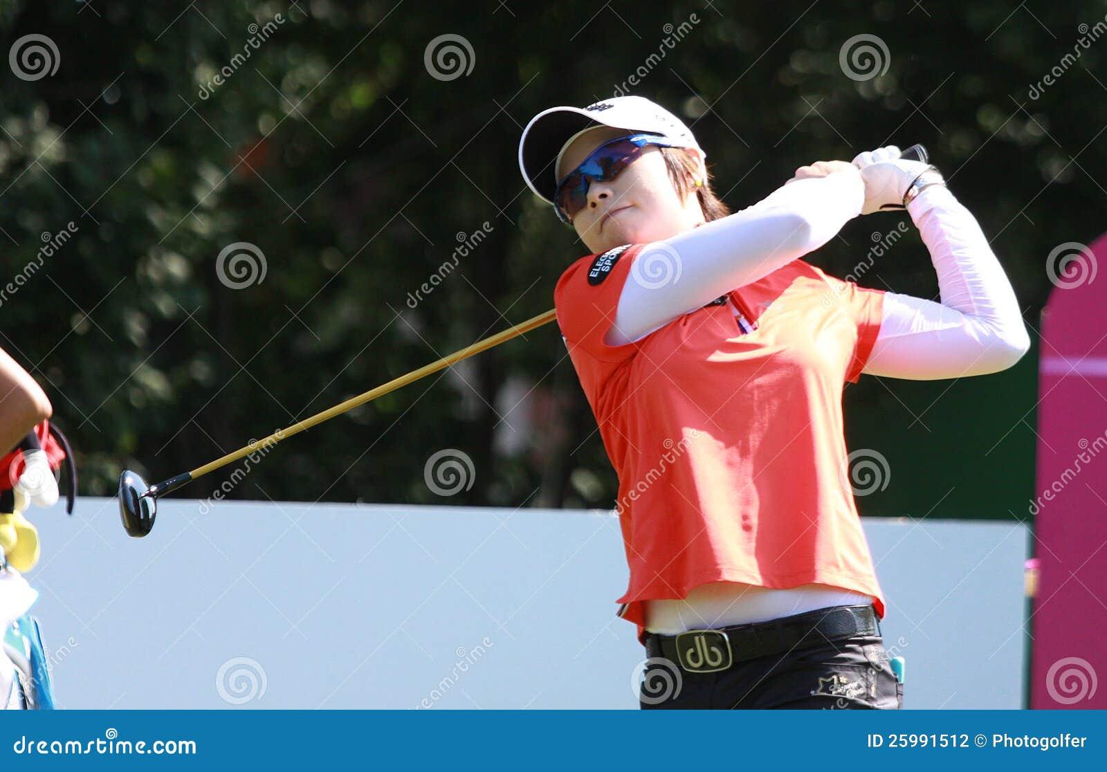 Hee Lee på golf Evian styrer 2012