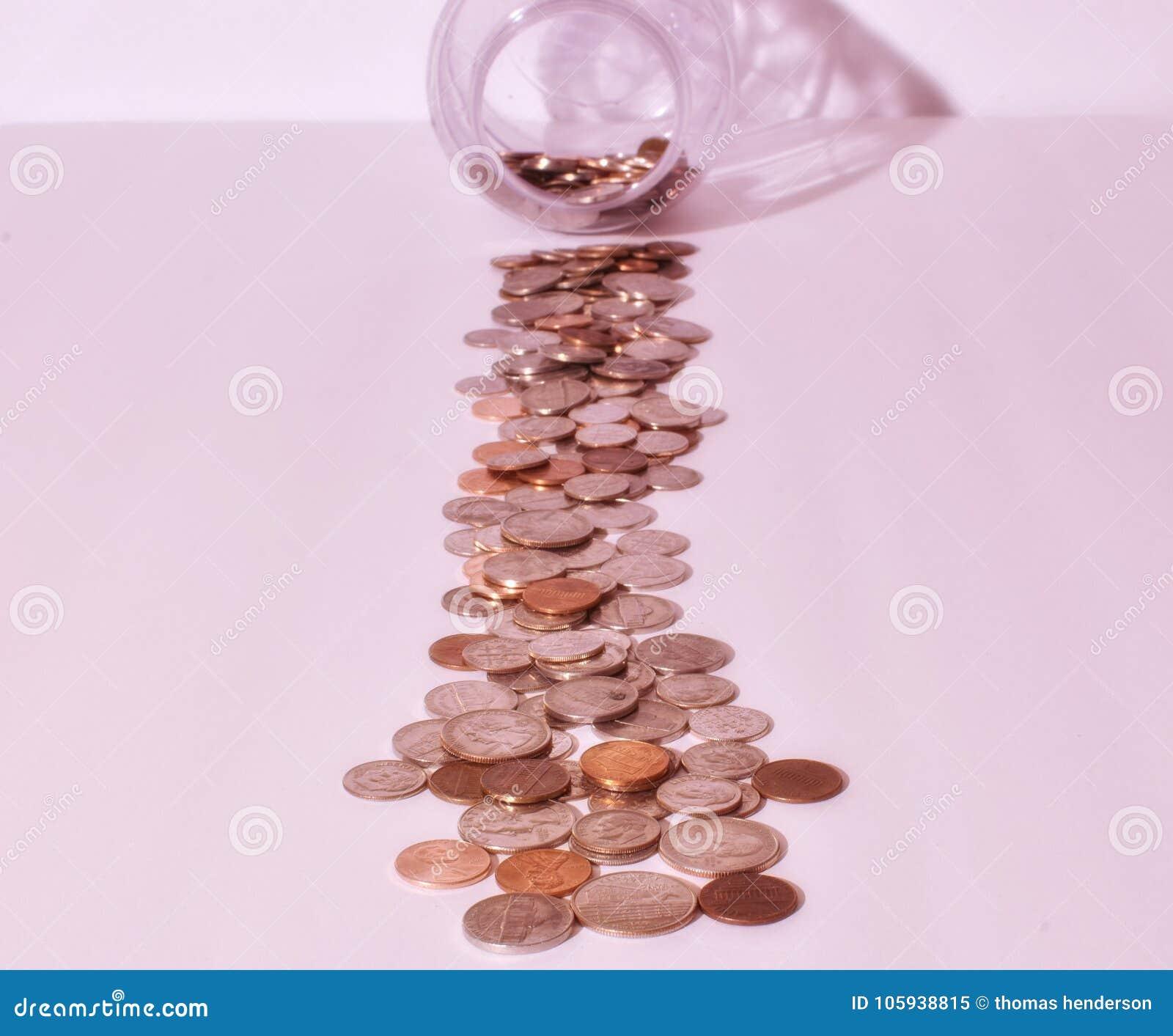 Heel wat kwartendimen vernikkelt en pence