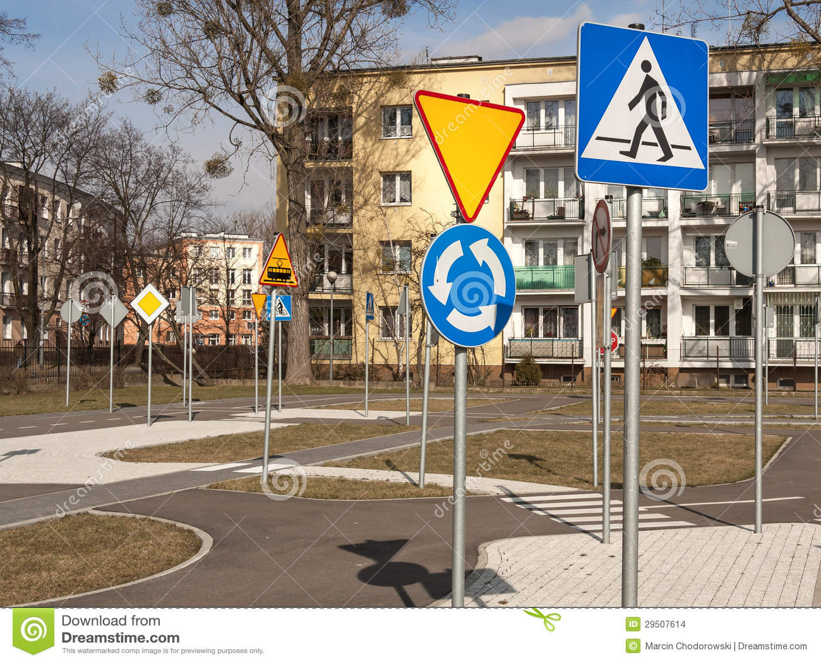 Heel wat verkeersteken