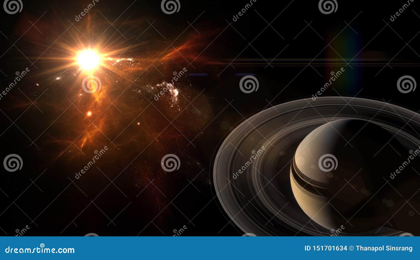 Heelal al bestaande kwestie en de ruimte beschouwd als geheel als de kosmos