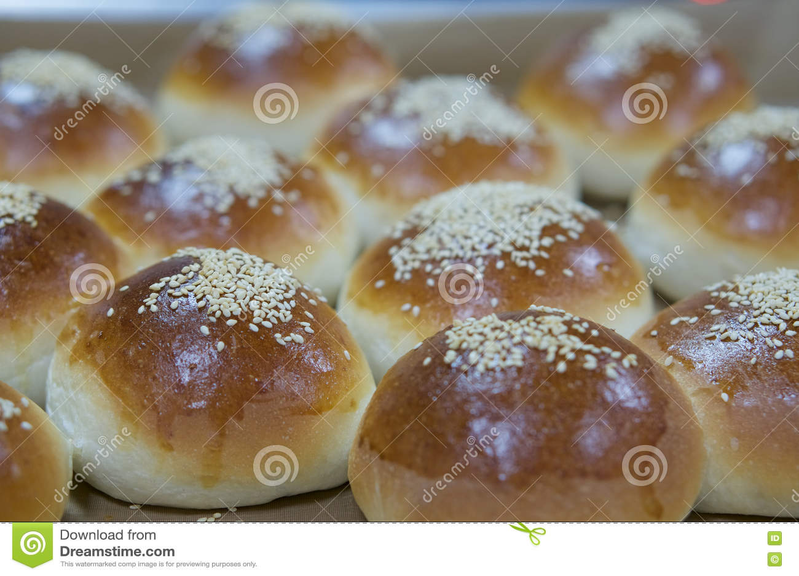 Heerlijk brood met sesam