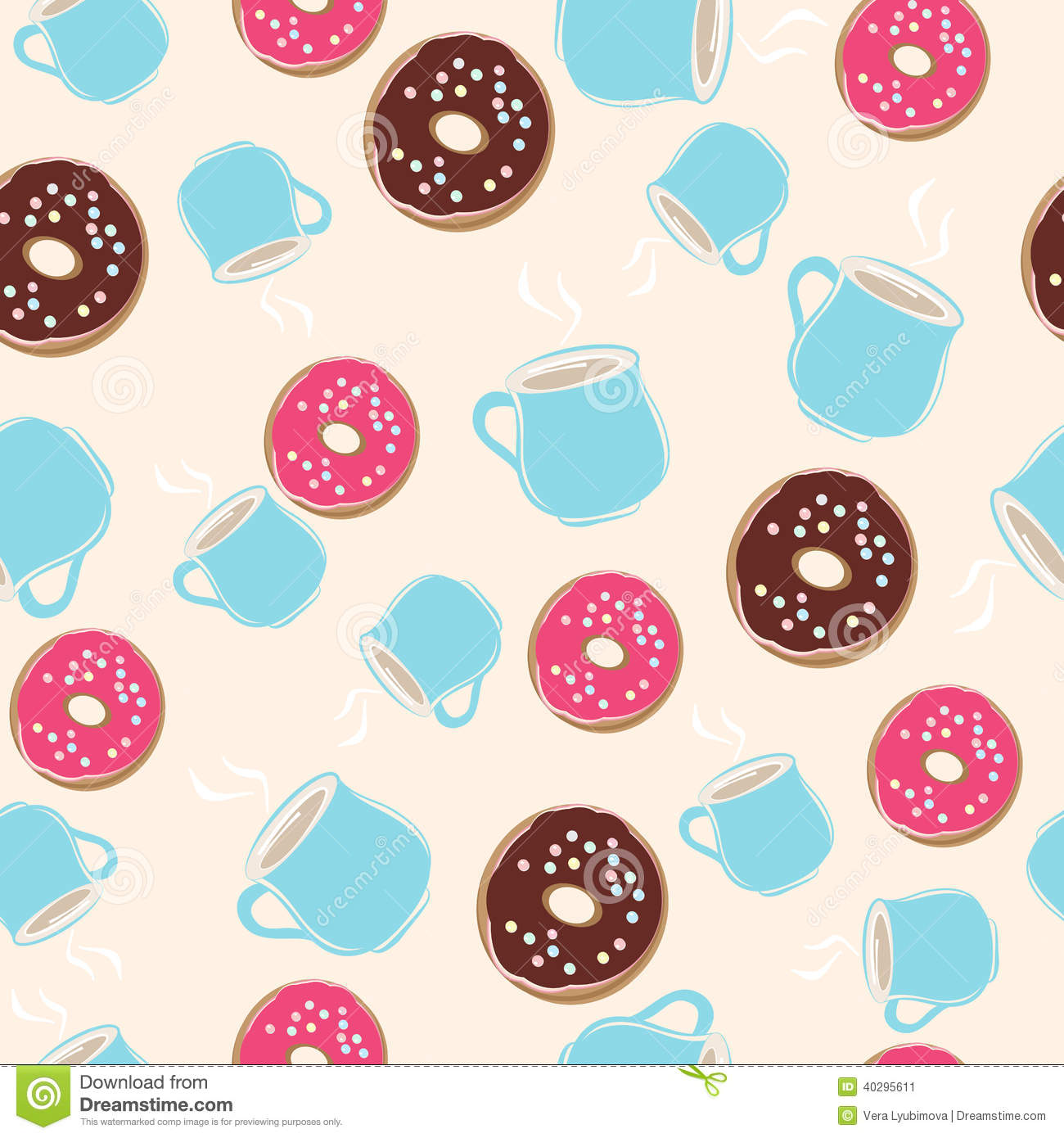 Baby Donut Ring Pink