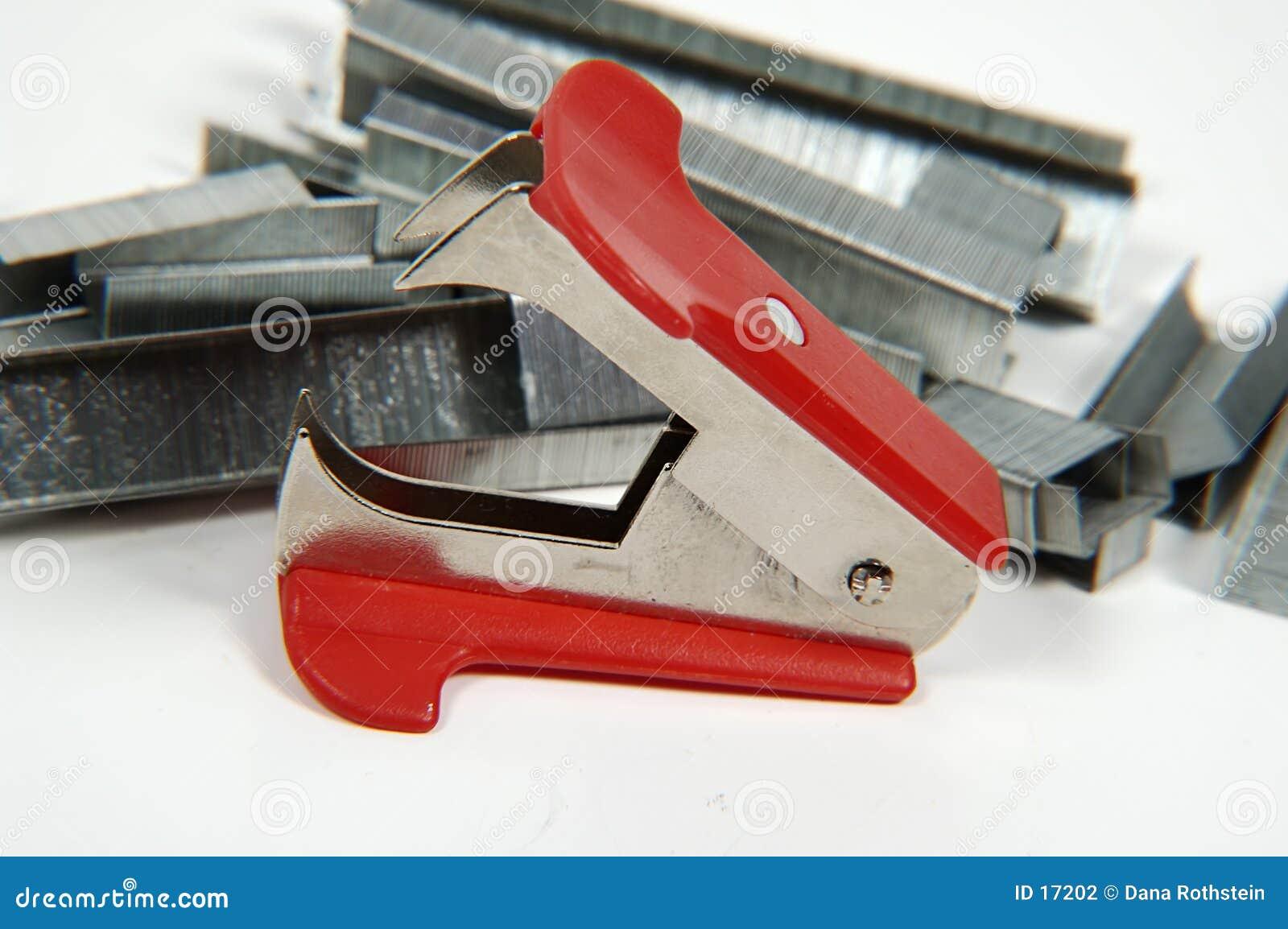 Heftklammern und Remover