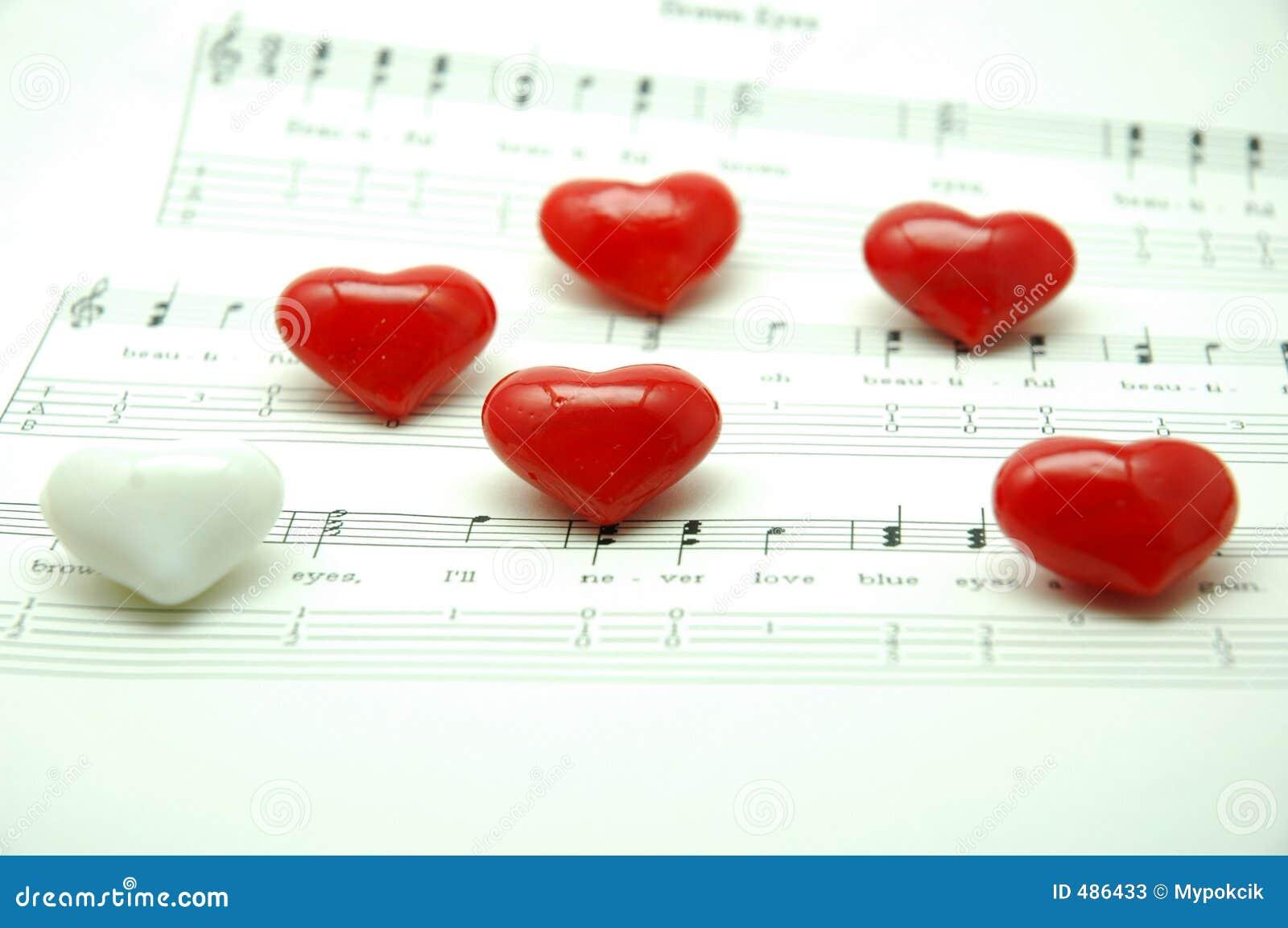 Heheart мраморизует форму примечания нот