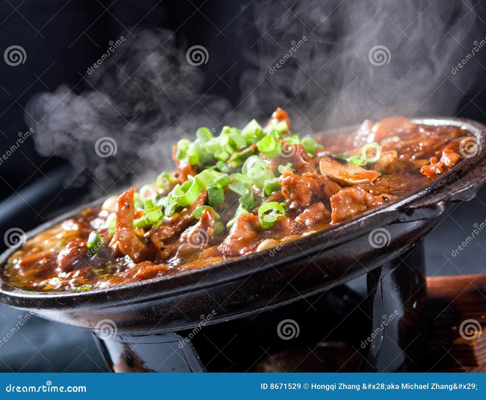 Heiße Nahrung