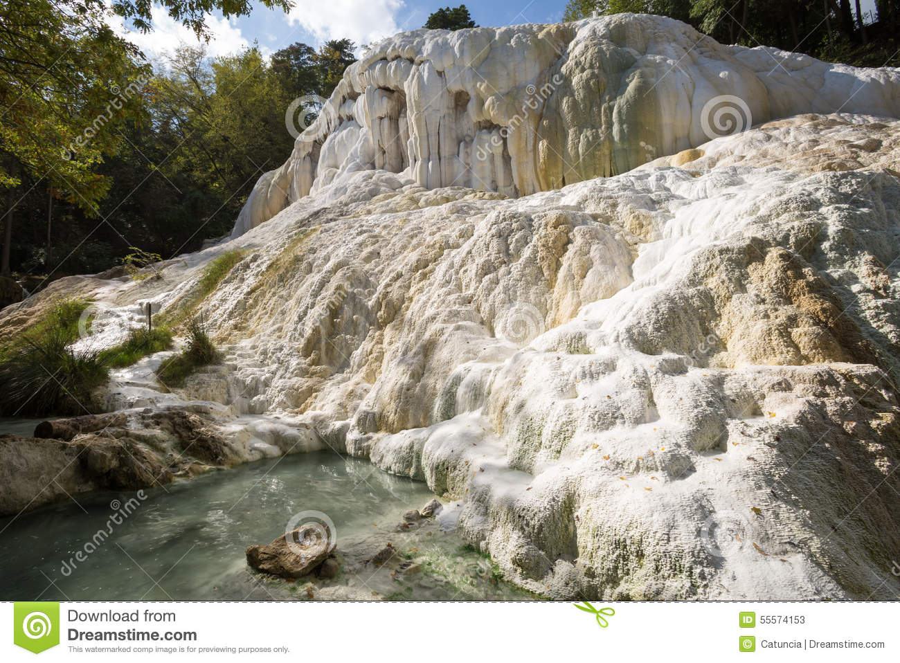 Bagni san filippo hot springs in val d orcia tuscany tuscany planet