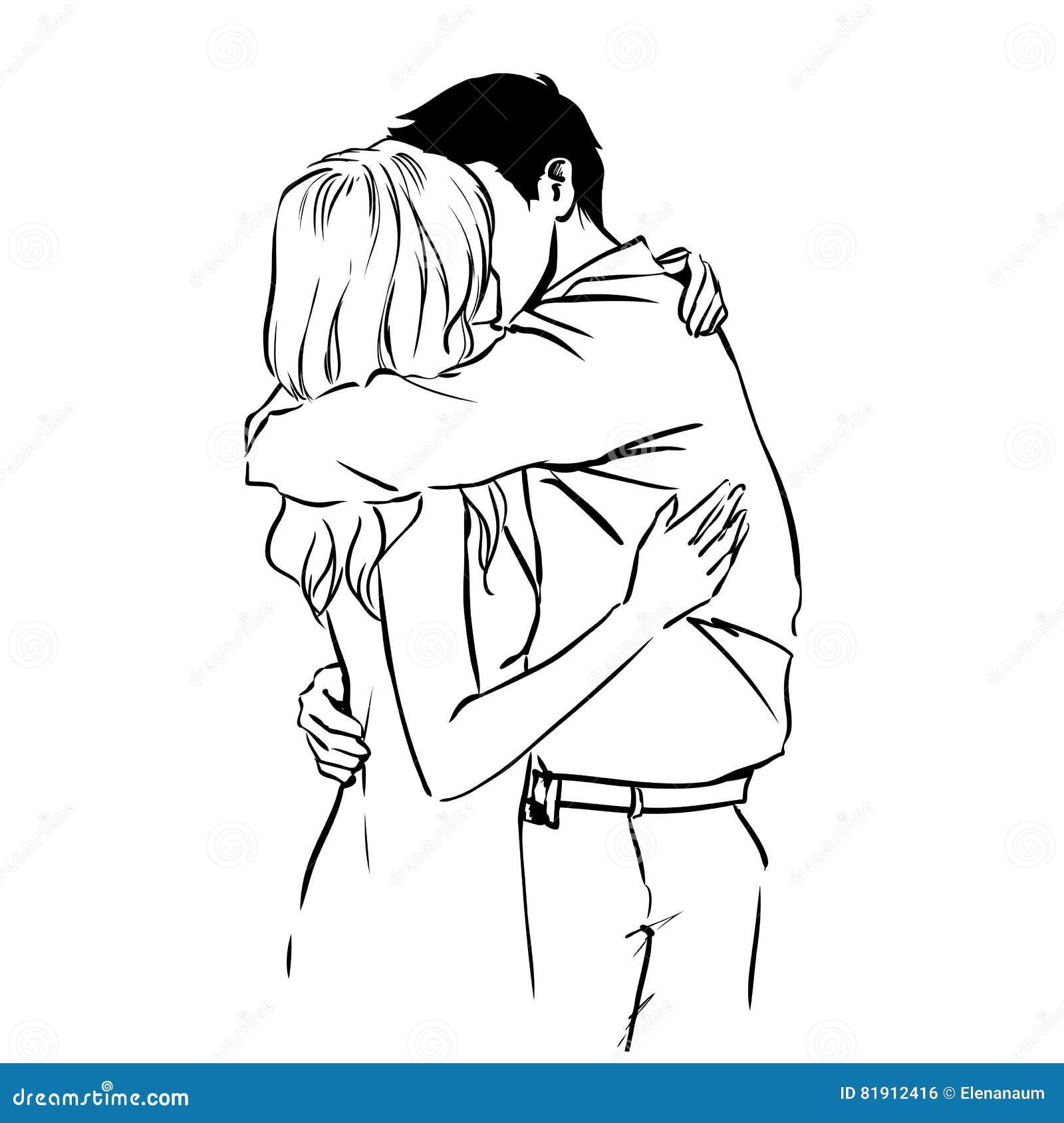 sinnlicher kuss
