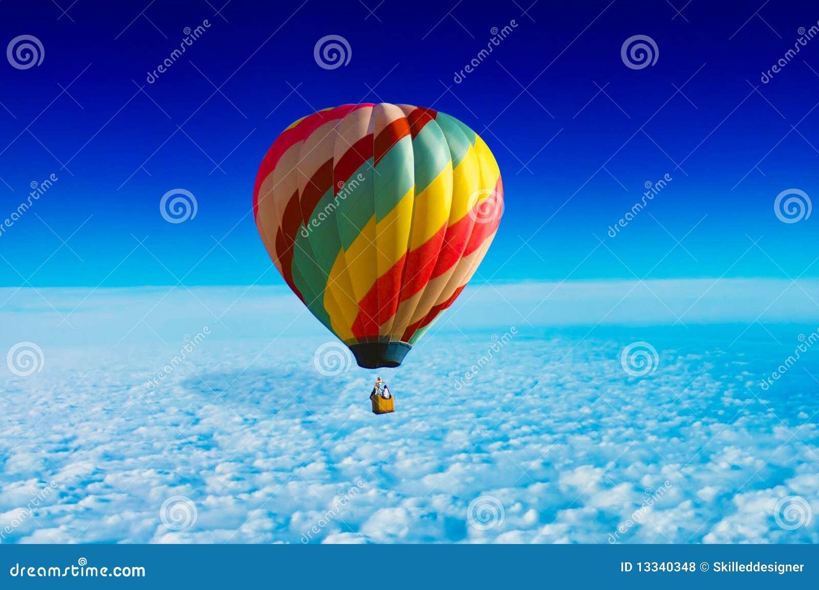 Heißluft-Ballon