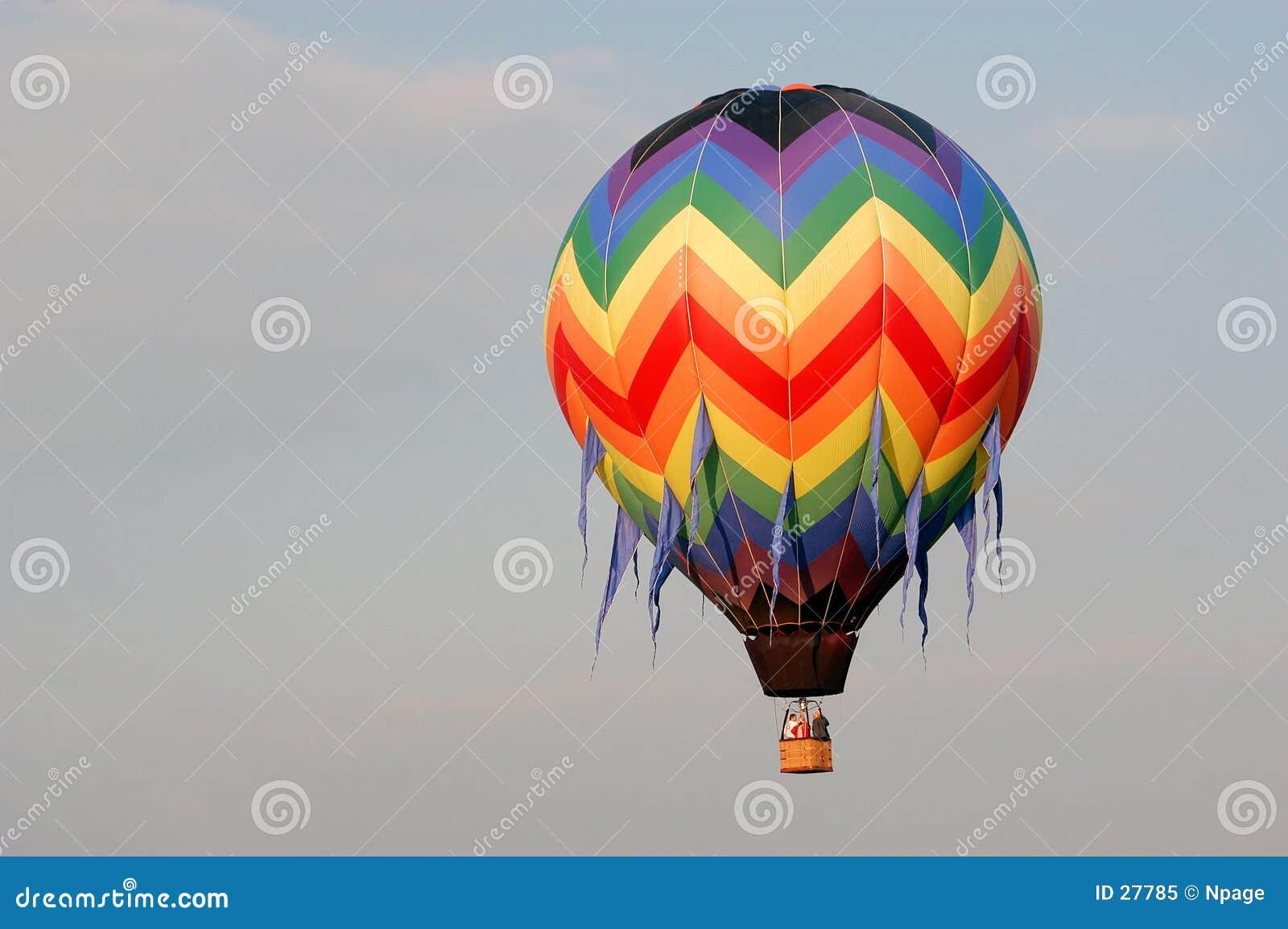 Heißluft-Ballon V