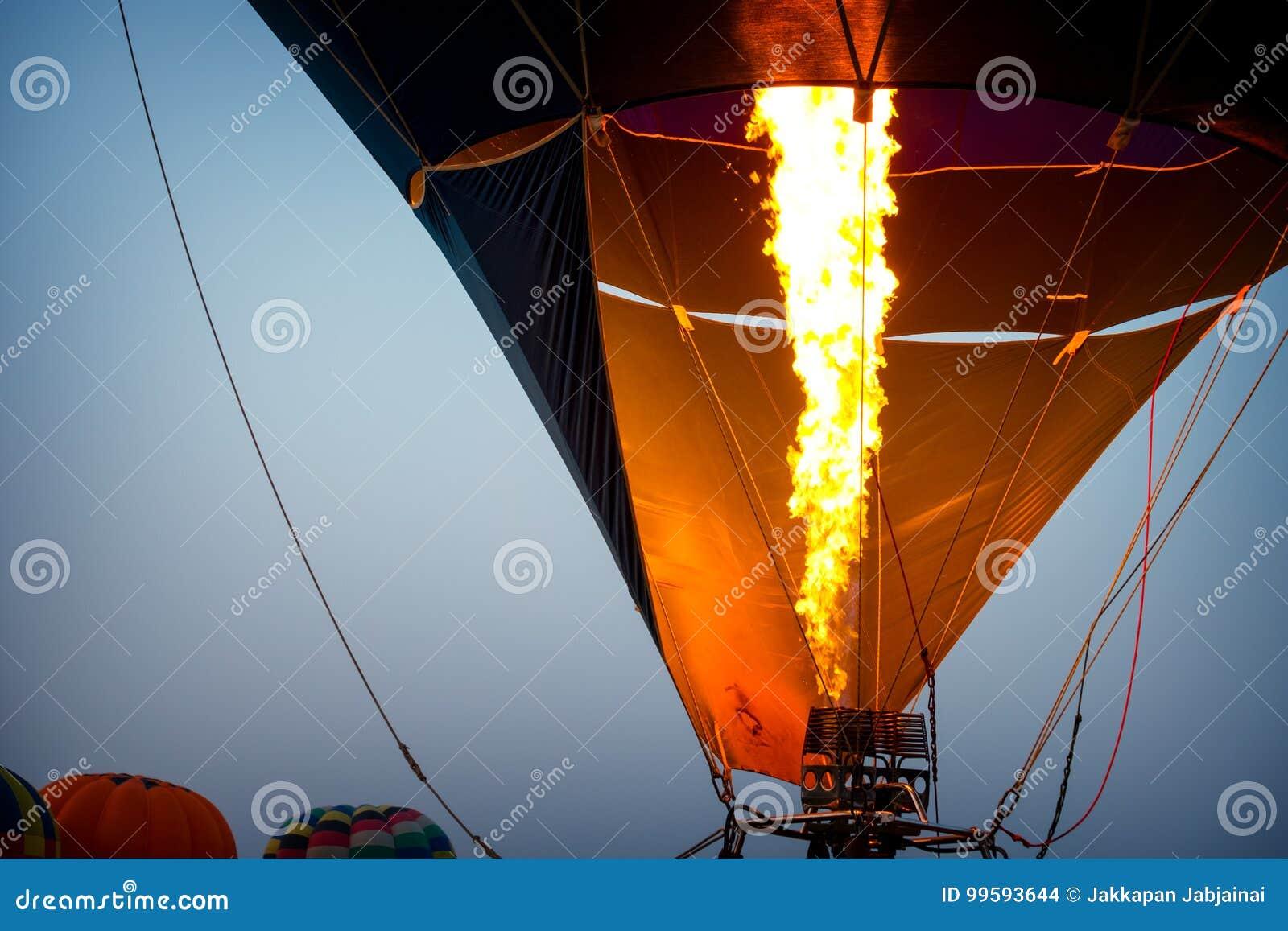 Heißluft Ballone