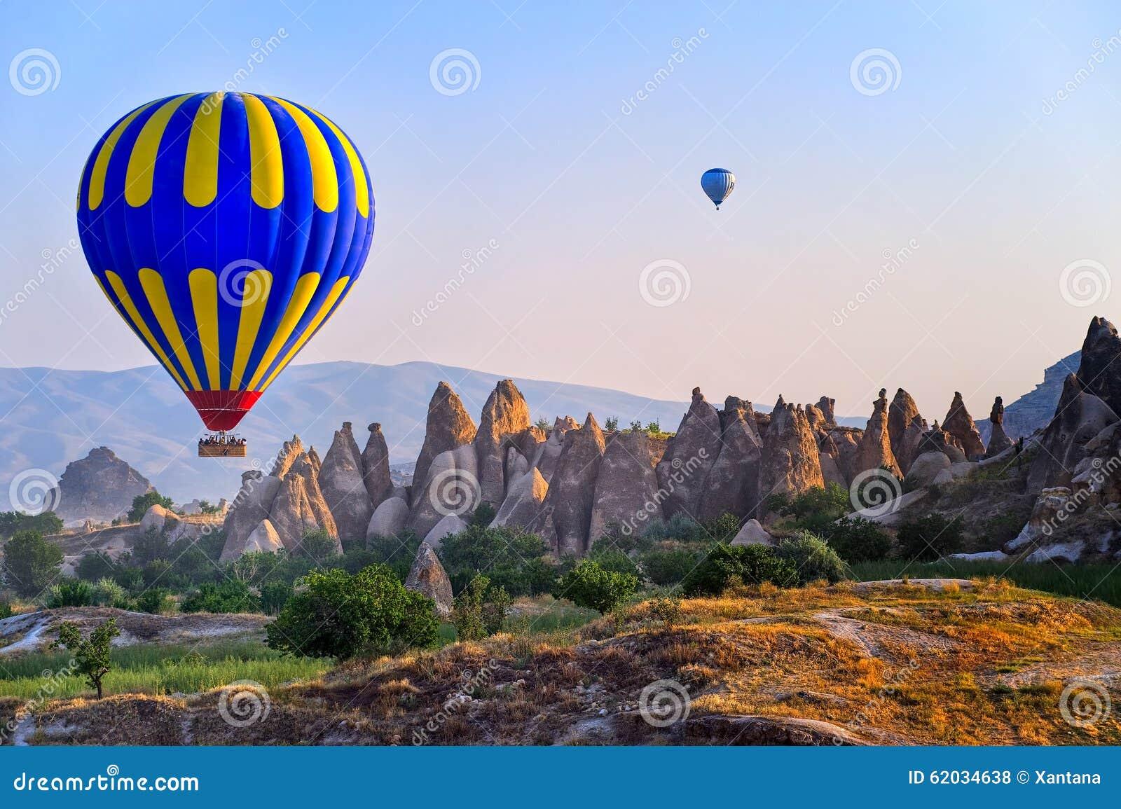 Heißluftballon Cappadocia, die Türkei