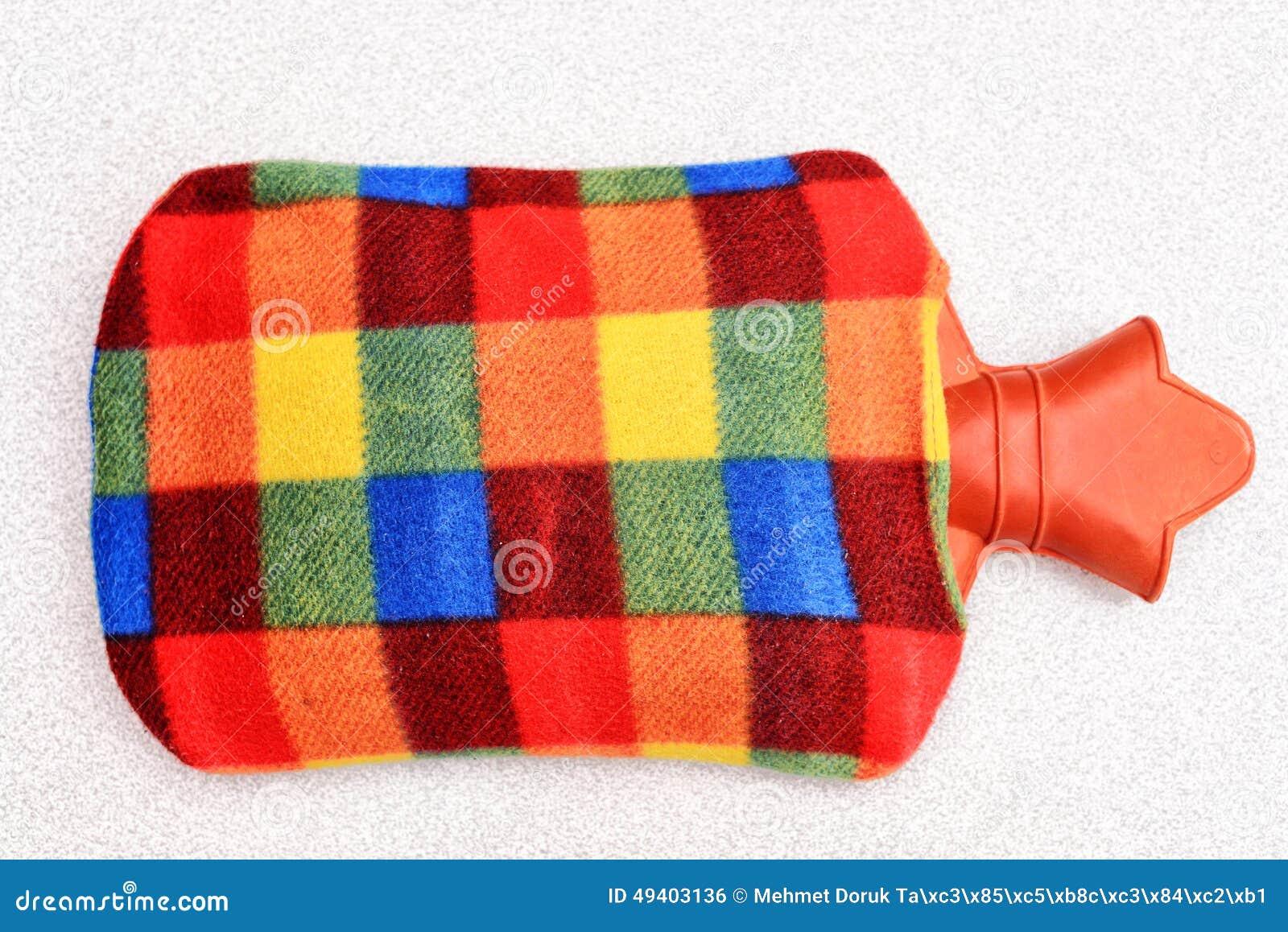 Download Heißwassertasche stock abbildung. Illustration von blau - 49403136