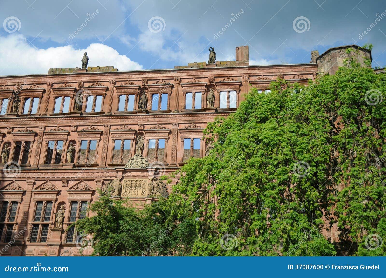 Download Heidelberg kasztel zdjęcie stock. Obraz złożonej z brickwork - 37087600