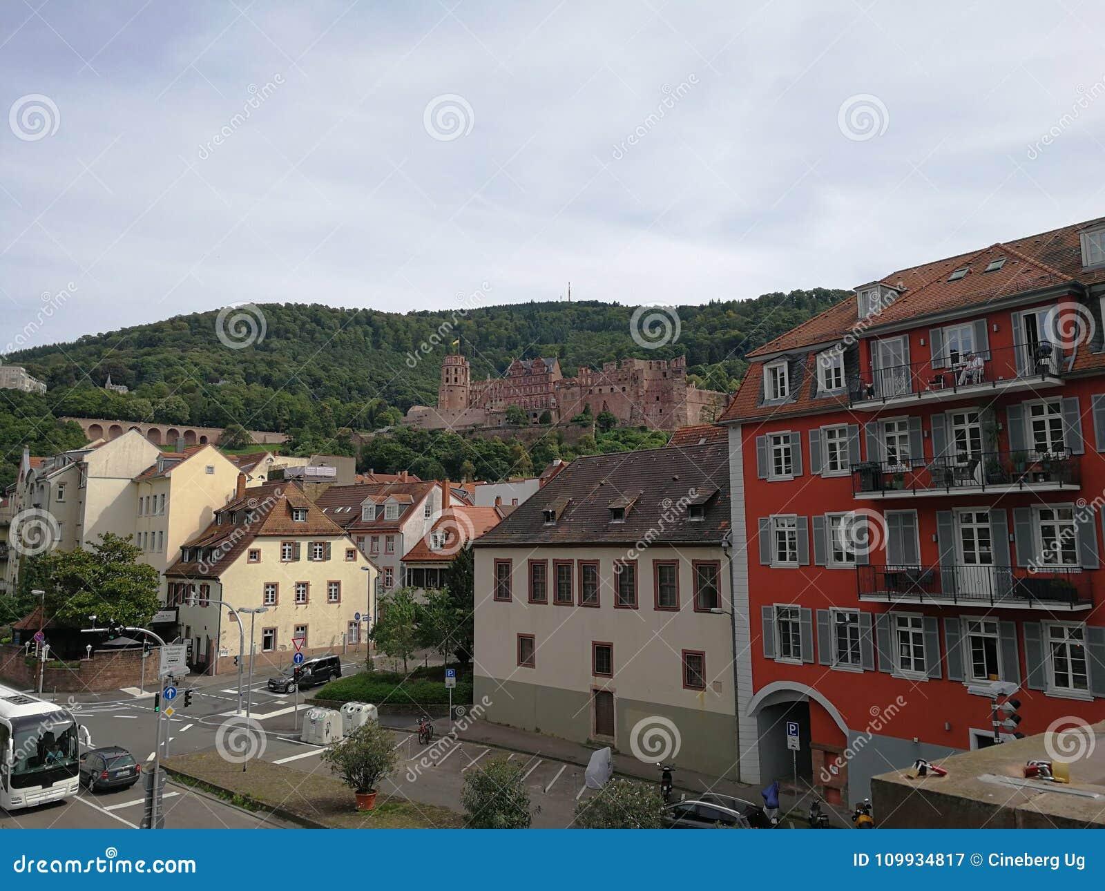 Heidelberger Schloss, kasteel van Heidelberg, Duitsland
