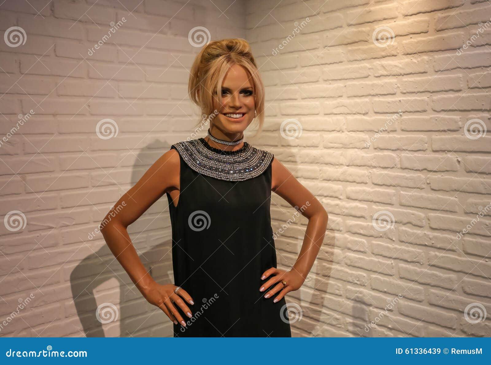 Heidi Klum, signora Tussauds