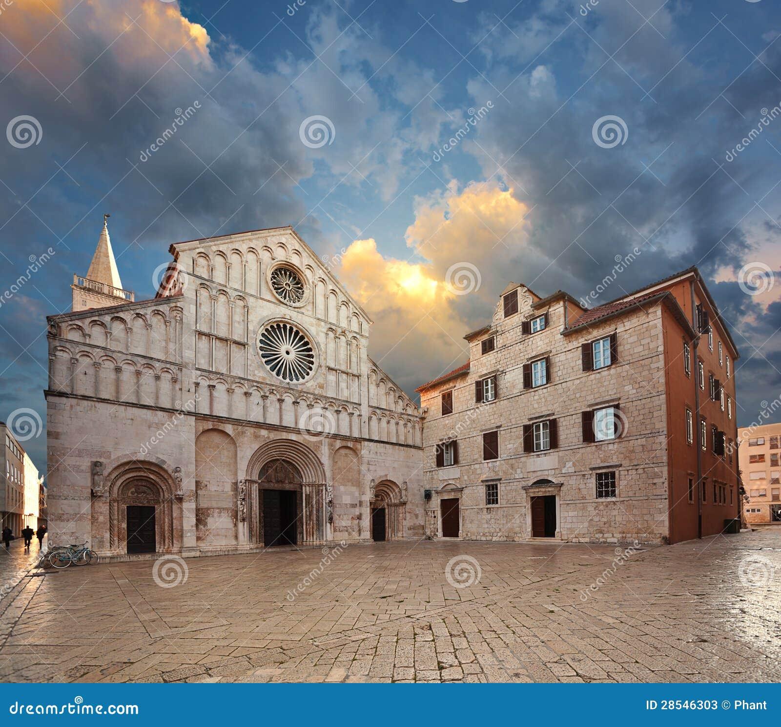 Heilig-Anastasia-Kathedrale. Zadar.