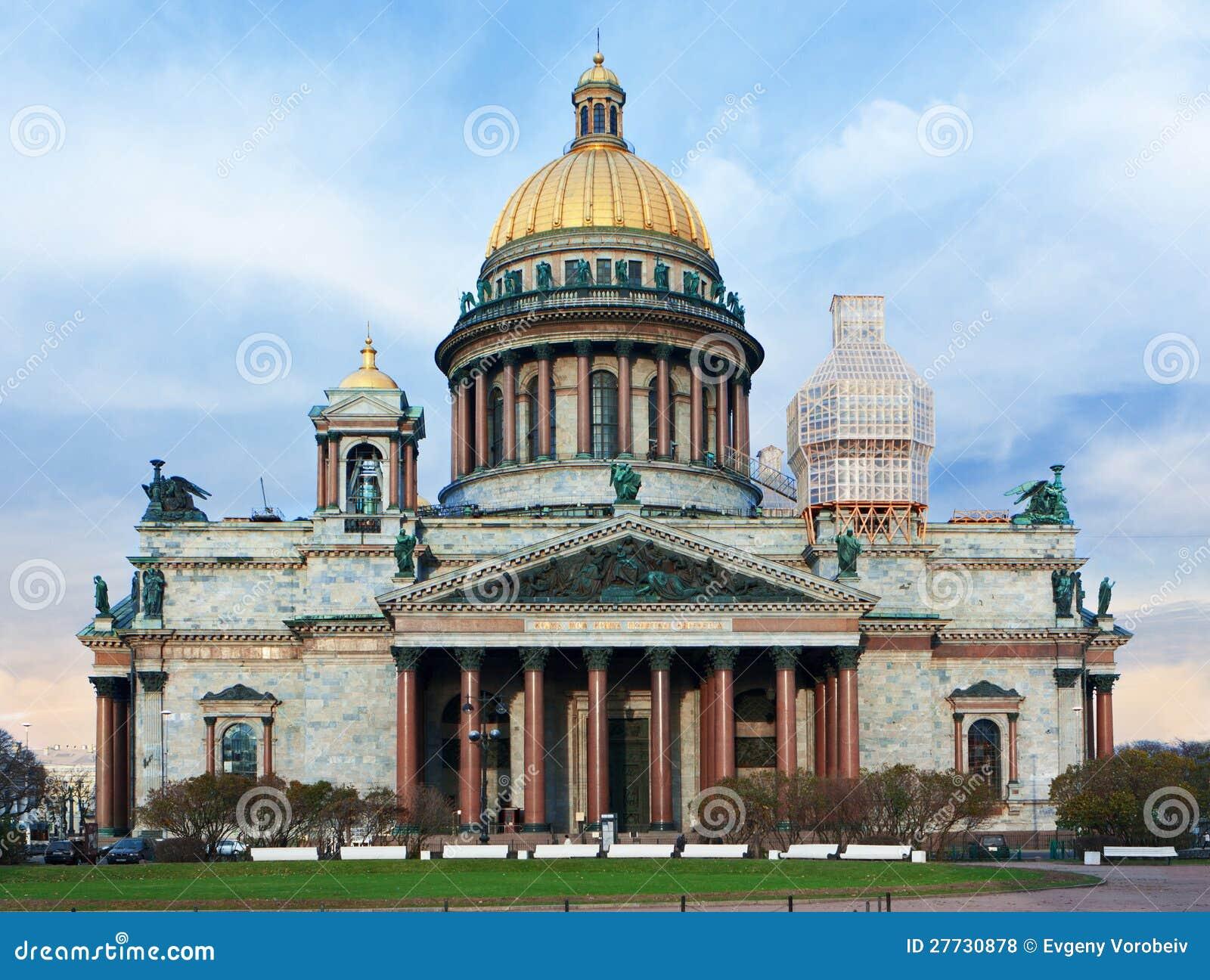 Heilig-Isaac Kathedrale in St Petersburg