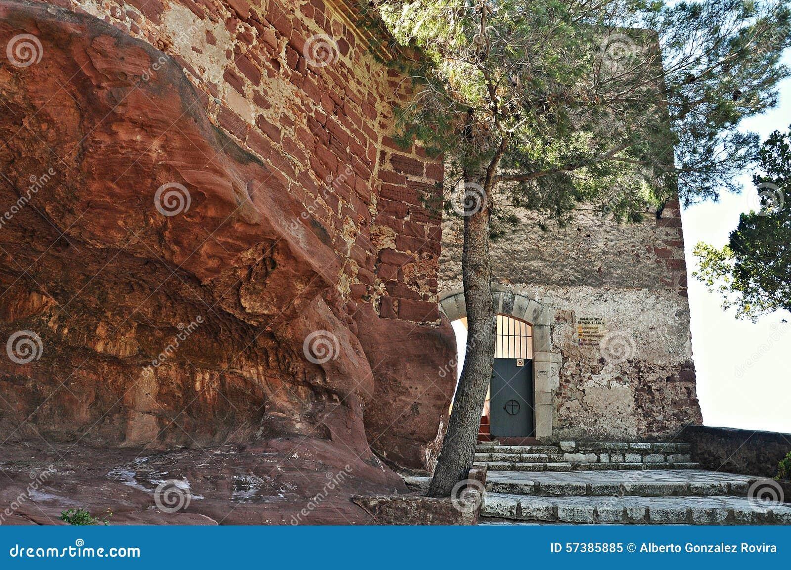 Heiligdom van Virgin DE La Roca, in Mont-roig del Camp
