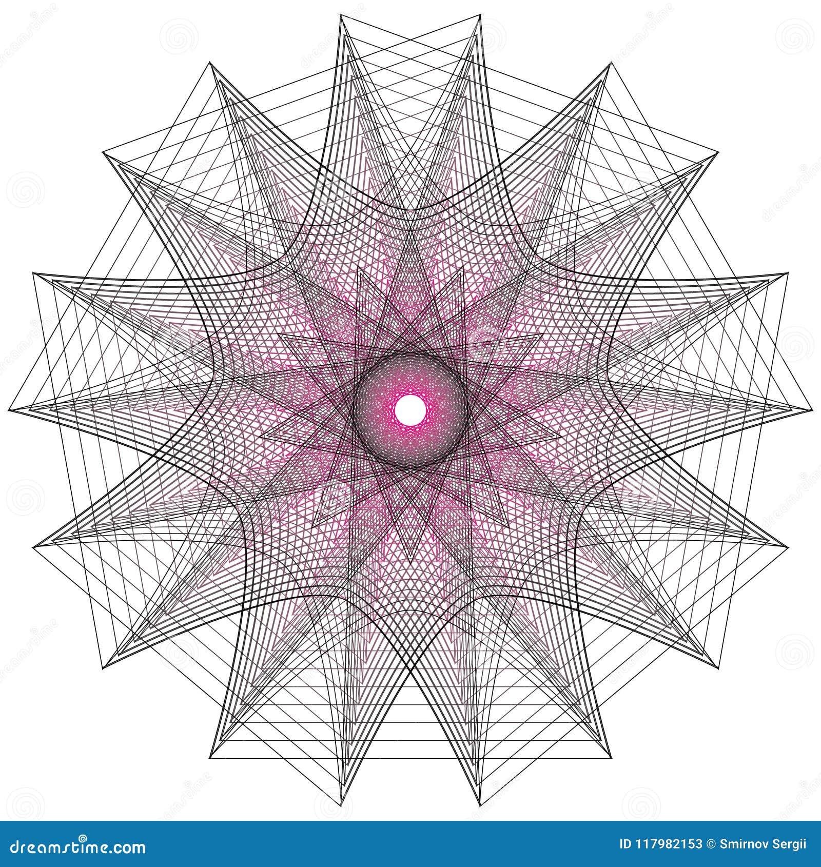 Heilige Geometriezeichen Satz Symbole und Elemente Alchimie, Religion, Philosophie